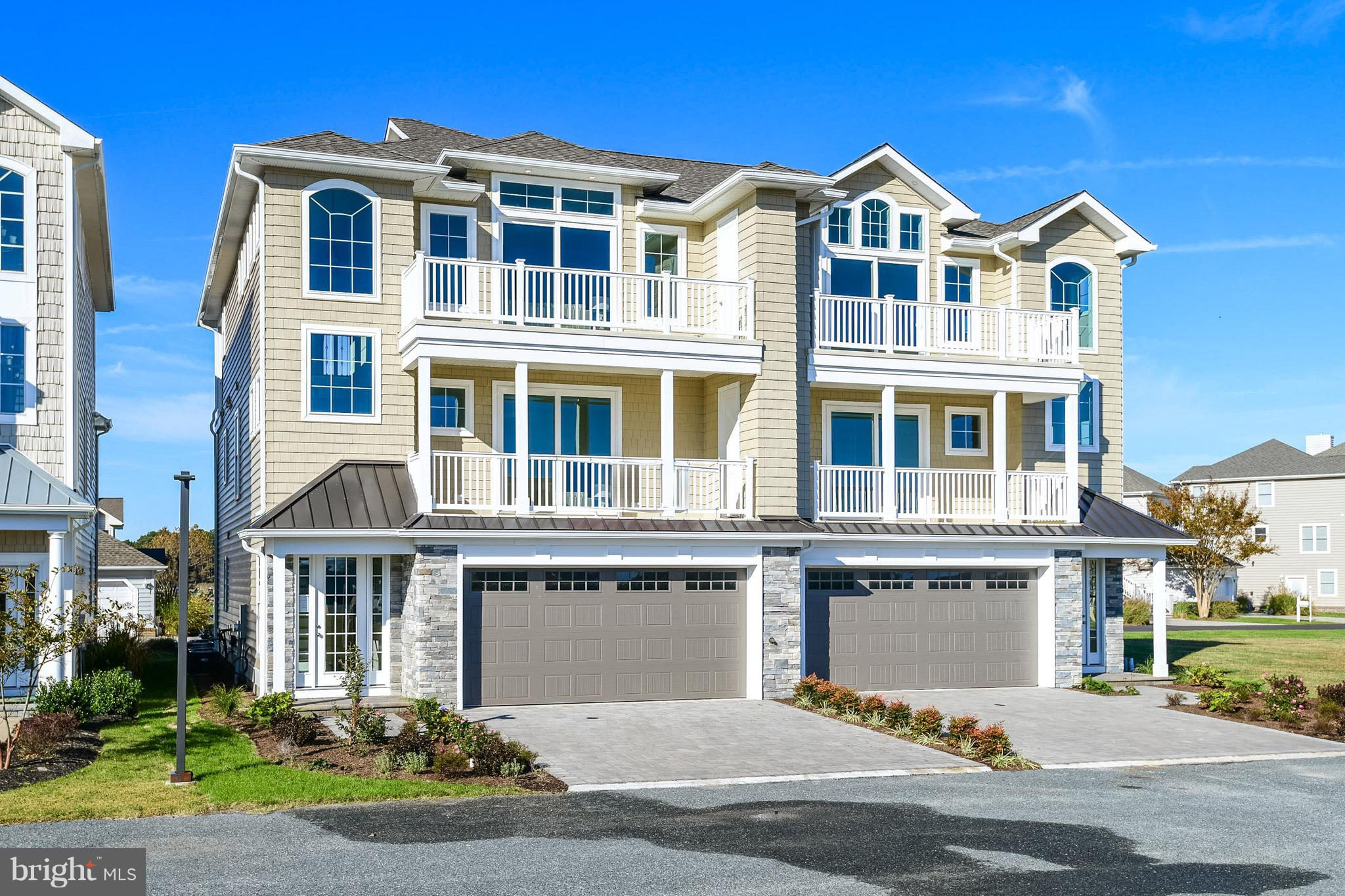 NEW CONSTRUCTION, The PLANTATIONS - Ocean City, Prestiges Development - 14 Townhouse Community, 5uni
