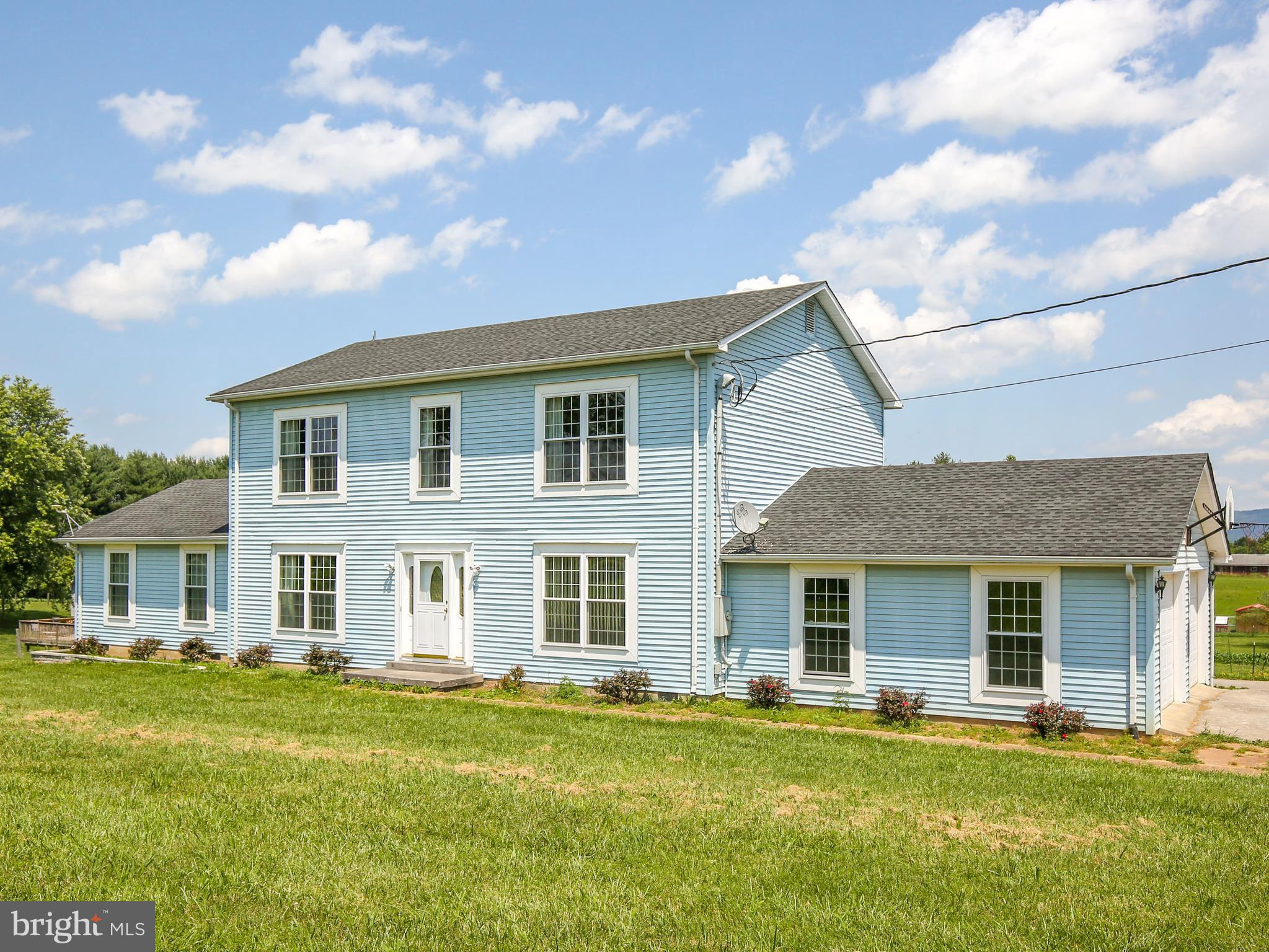 Dreaming of your very own farmette?  This is the one for you! Colonial style home offers 4 bedrooms