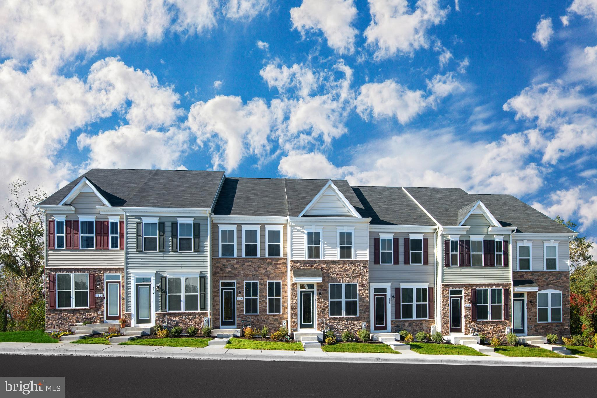 This is the Clarendon Model Home .  Never has convenient townhome living felt as luxurious as it doe