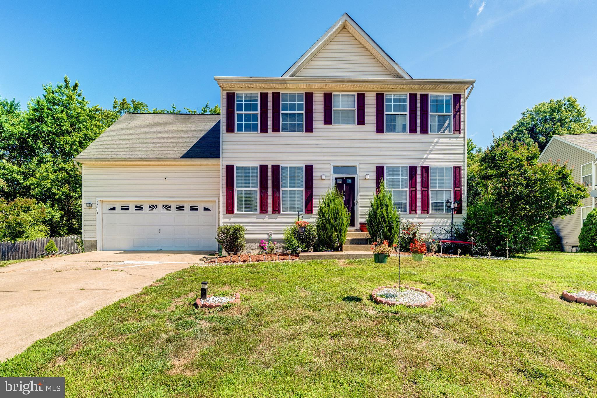 Welcome home to this beautiful 4 bedroom 3.5 bath with a finished basement!  The main level greets y