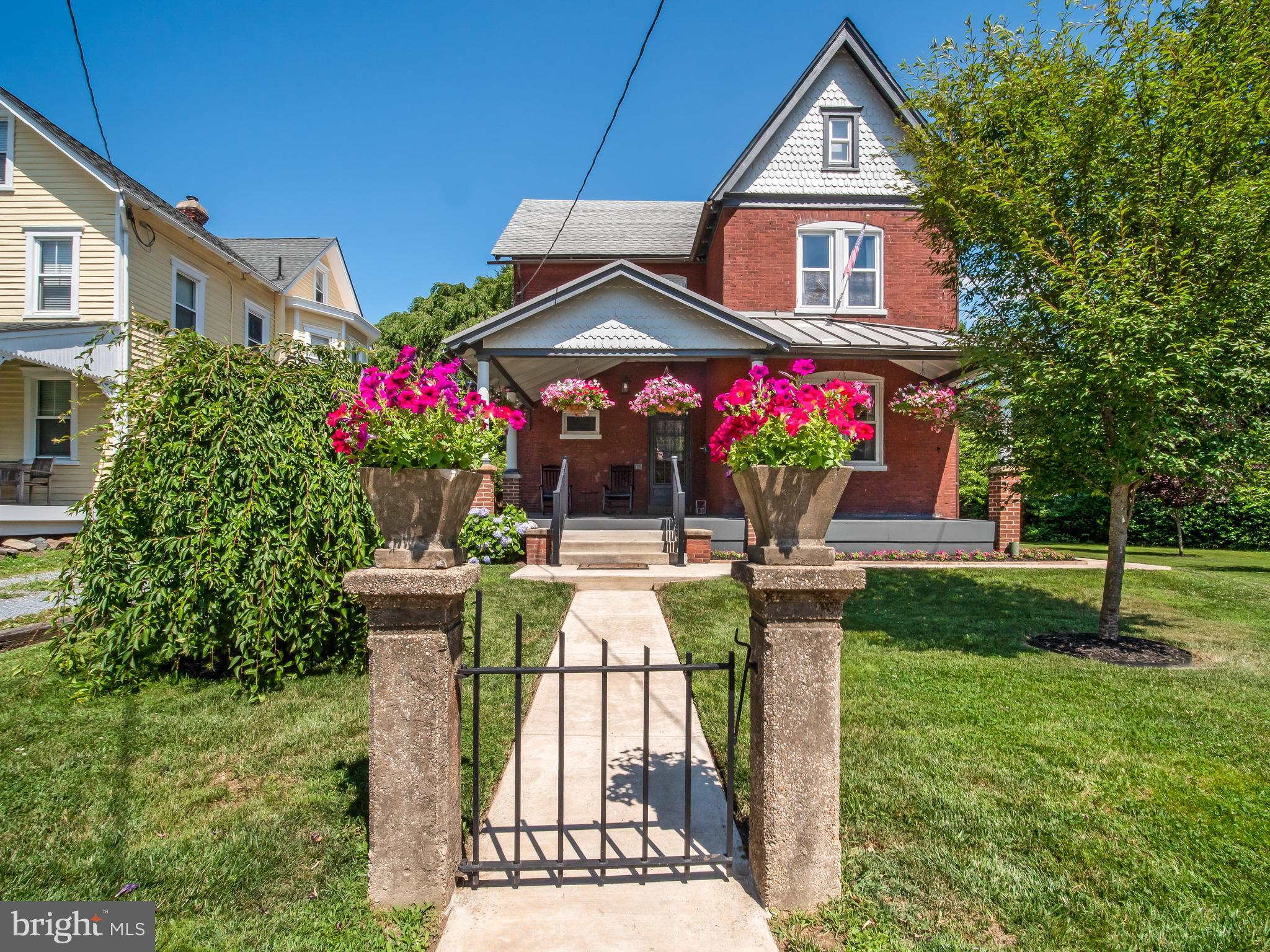 The brick Victorian home is one of the most sought after architectural styles that has lasted the te