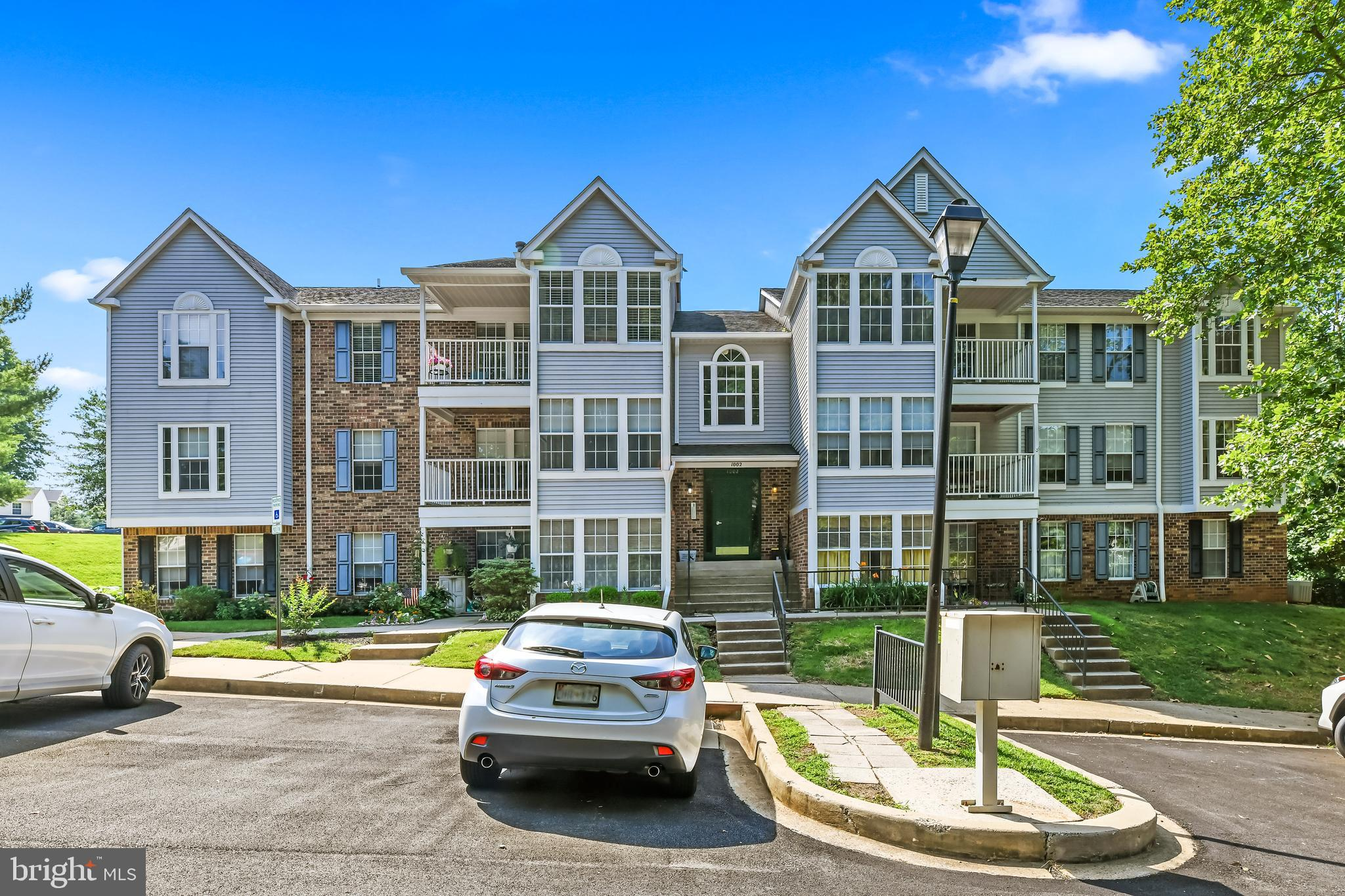 Lovely 2 bedroom 2 bath condo at  Brentwood Condo in  Bel Air, MD. Brand new vinyl flooring in the kitchen and brand new carpet in the main living areas and bedrooms. All new outlets and fresh paint throughout. Brand new stove, microwave and refrigerator. Will sell fast.