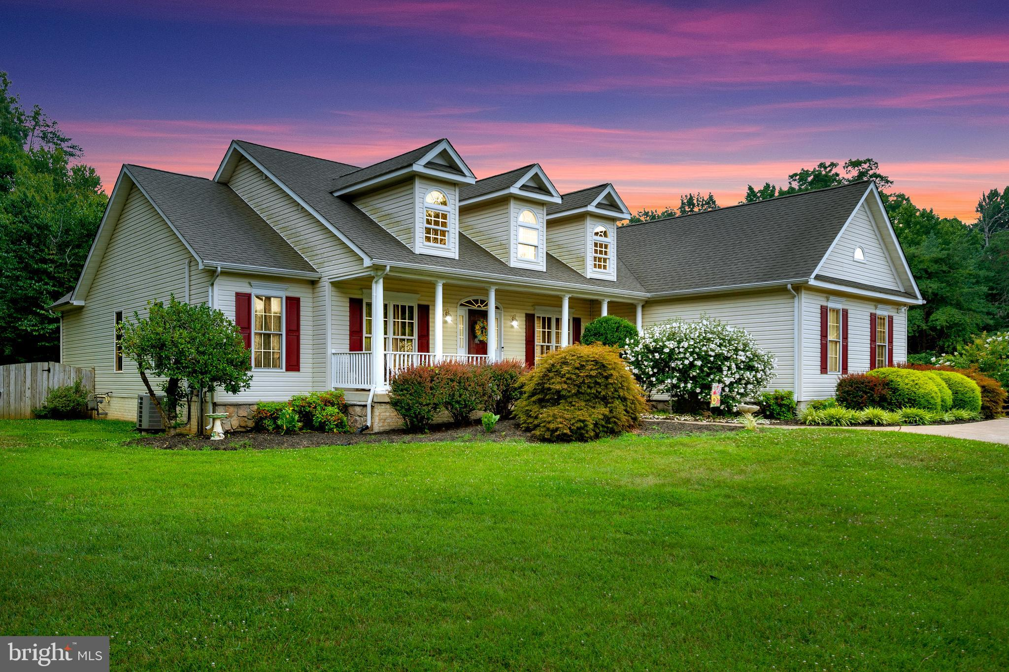 Welcome to 3 Donna Dale Drive!  This cherished custom built rambler with full country front porch dr