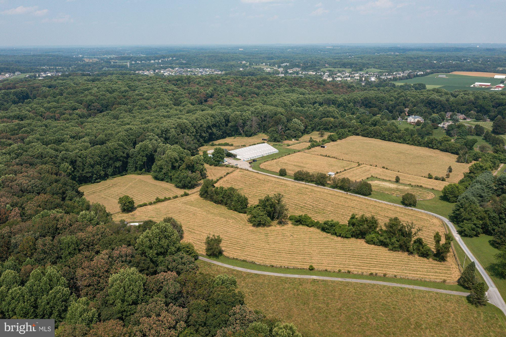 Supremely private and secluded, this beautiful horse farm and home site in Clarksville, MD consists