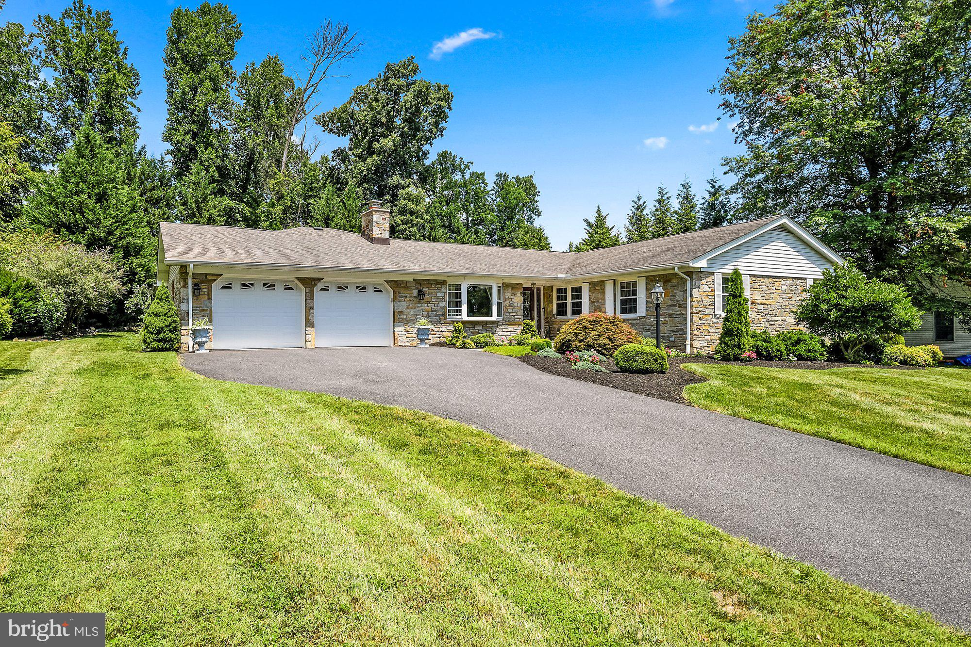Beautifully updated, 3 Bed 2 Bath Stone Rancher situated on a private .51AC lot. No expenses spared!