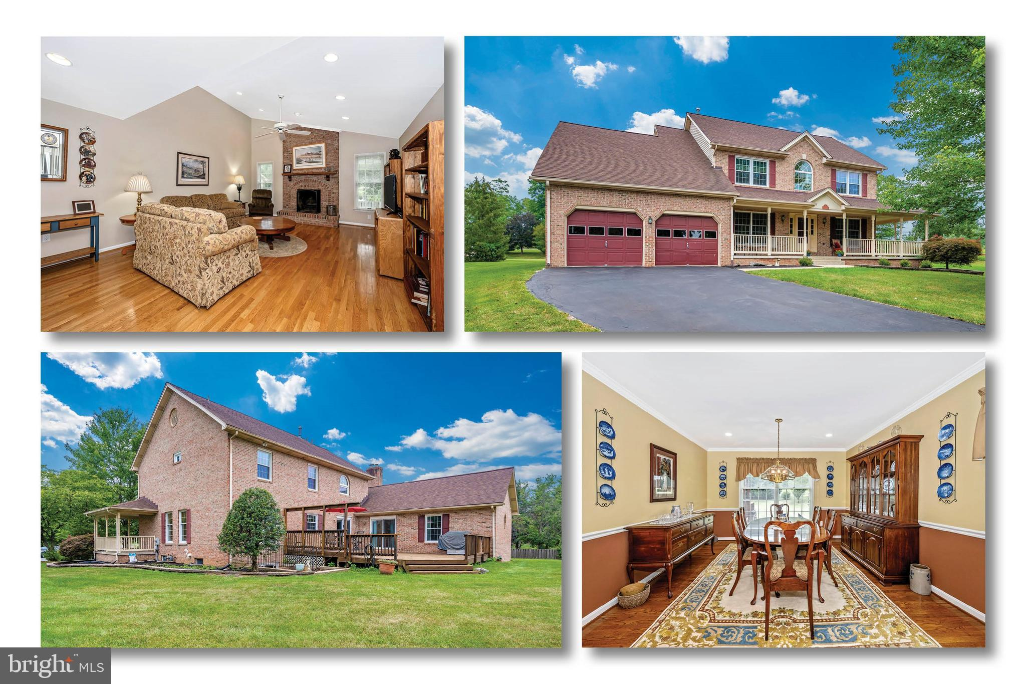This all brick, Ausherman-built home sits in a cul-de-sac  in the sought after Deerfield Community.