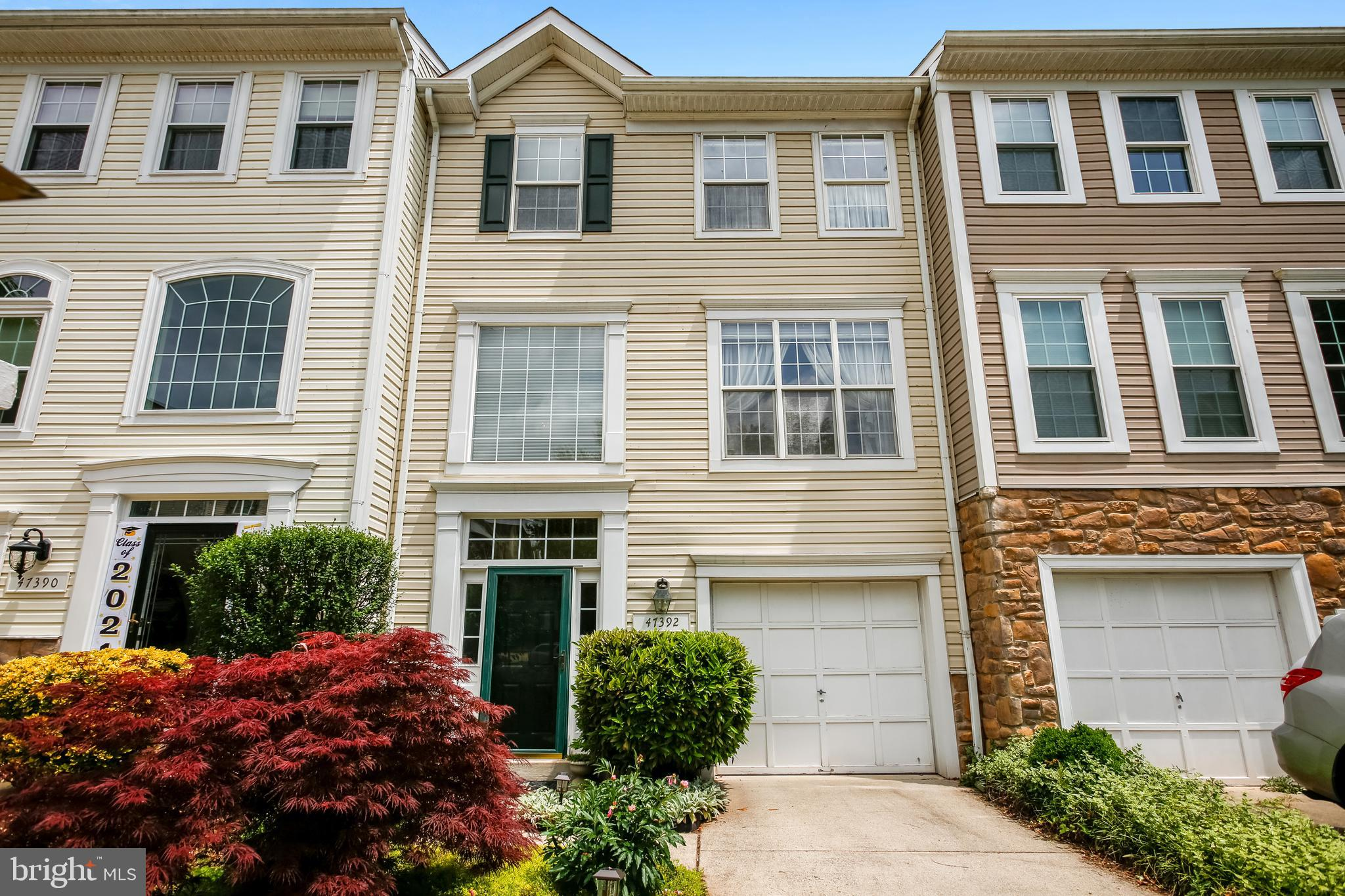 Open House on Sunday, July 11th from 1-4pm Simply stunning and meticulously maintained, 3 level garage townhome with 3-bedroom, 2.5 bath. This home will capture your heart.  This original owner occupied home is available for responsible showings via advanced online scheduling appointments.   We invite you to explore all this home has to offer while following CDC guidelines.    Open the front door onto a finished lower level, boasting a huge living area, gas fireplace, half bath, one car garage, gorgeous patio and a gardener's dream yard. Main level sliding doors allow natural light to flood into the spacious eat in kitchen, dining and living room. Stroll onto the large private deck from the kitchen for your morning coffee before you start  the day.  As you enter the upper level a luxurious master bedroom with vaulted ceiling, walk-in closet, and ensuite bath welcomes you. In addition, there are two generous sized bedrooms, a large full bathroom and a laundry with washer and dryer make this home perfect. The popular Great Falls Chase neighborhood has so much to offer including pool, basketball courts, tennis, trails, and tot lot. Ideal location with nearby restaurants, shopping, and commuter bus service. Minutes to Rts. 7 & 28, Fairfax County Parkway, Dulles Airport, the W&OD bike path, and Algonkian Regional Park.