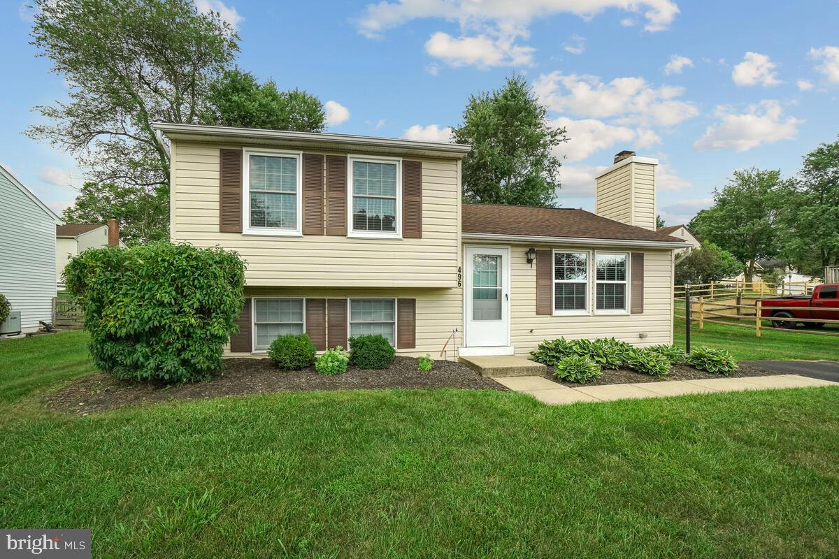 Meticulously maintained split level home close to all of Frederick's commuter routes, priced under p