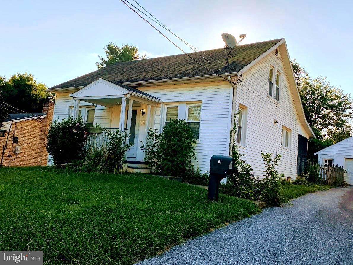 This charming home has a lot of potential to be a real gem!  Home does need work.  Located on a quie