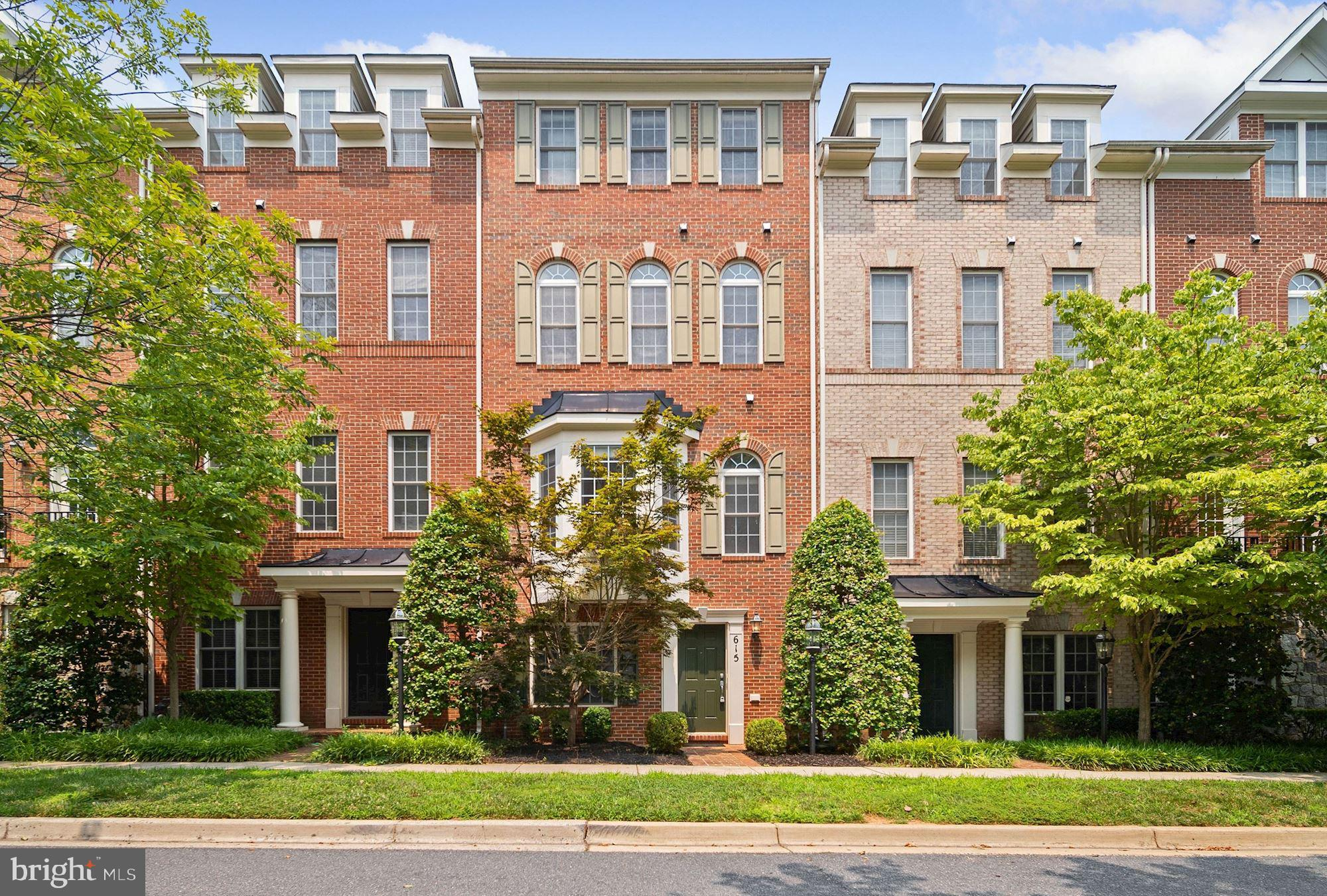 615 Eden Place is an elegant and spacious 4-level townhome on a quiet tree-lined street in lovely Hi
