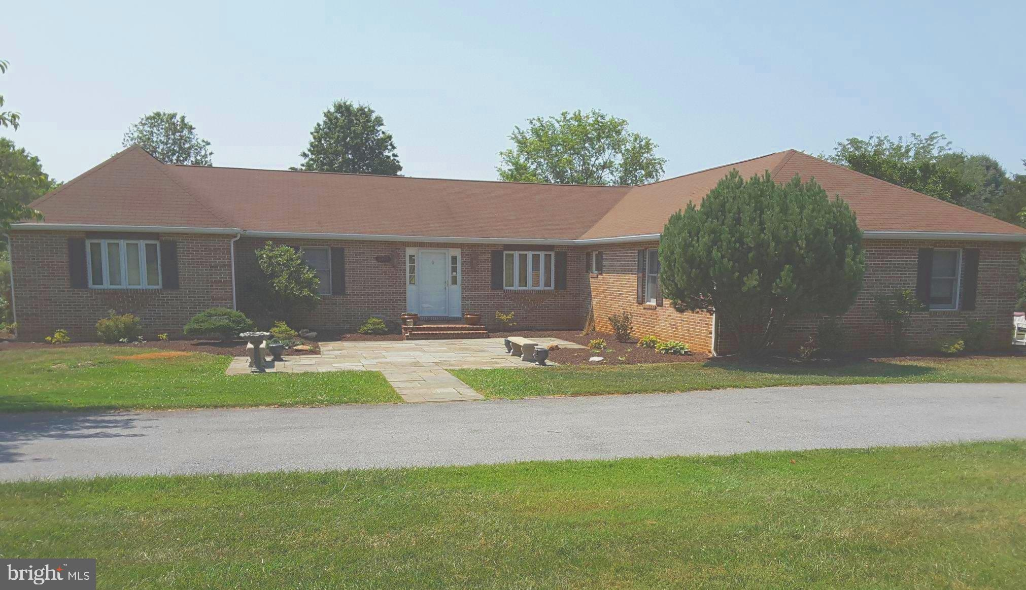 ACTIVE ,Pending  Release. Quality built all brick rambler on 2.62 acres 5 miles from town.  4 bedroo