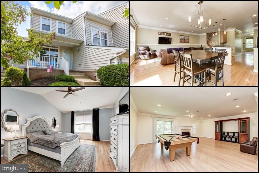 This spacious, bright and open four level townhome is located in the sought-after community of Emers