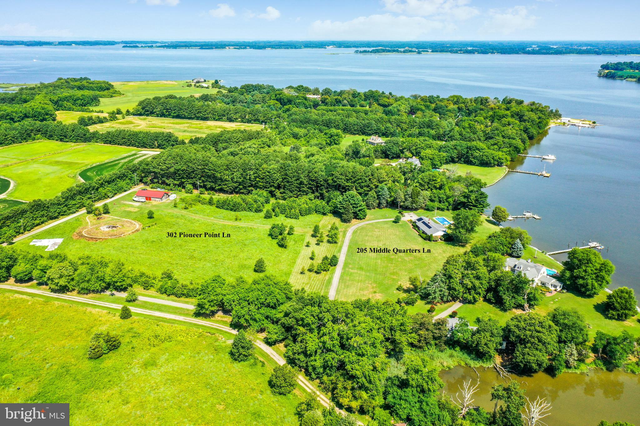 Being sold together with Land MLS # MDQA2000402  Own an Eastern Shore oasis on the Corsica River in