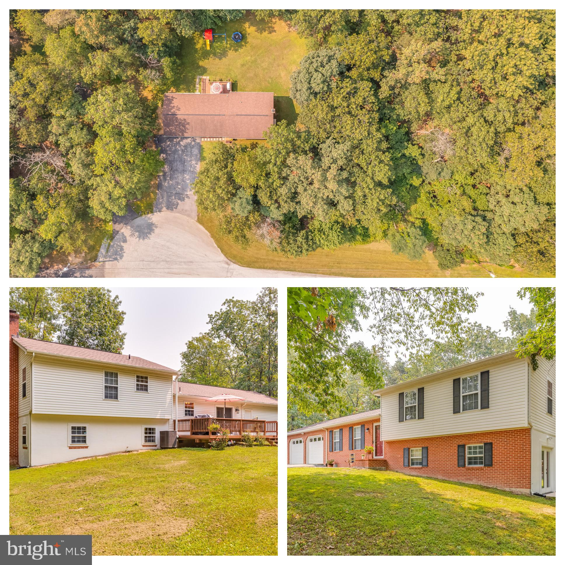 A serene quiet neighborhood in the woods. This home on 1.82 acres is located on a quiet cul-de-sac i
