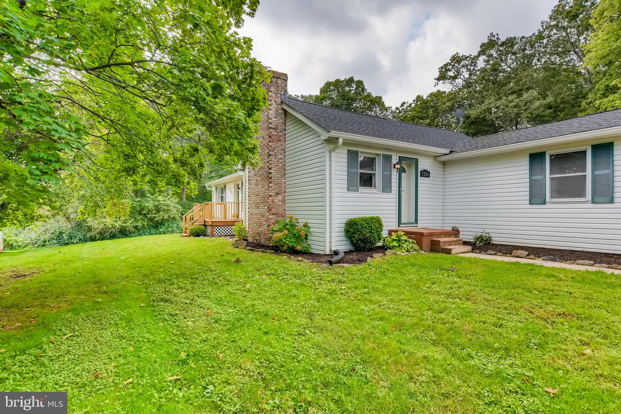 Beautiful 3 bedroom 2 bath rancher on a large .8 acre lot ready for you to call home.  Nicely update