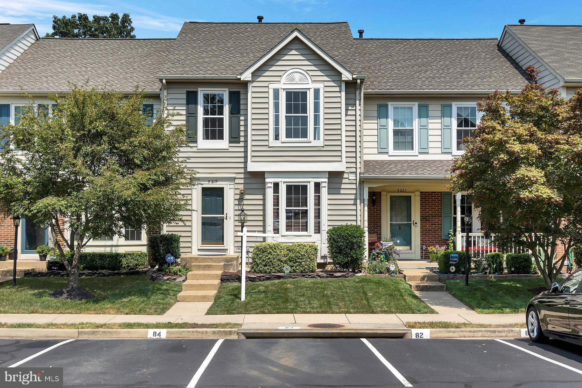 Welcome to 5219 Dunstable Lane. You'll love this charming Kingstowne townhouse that backs to woods.