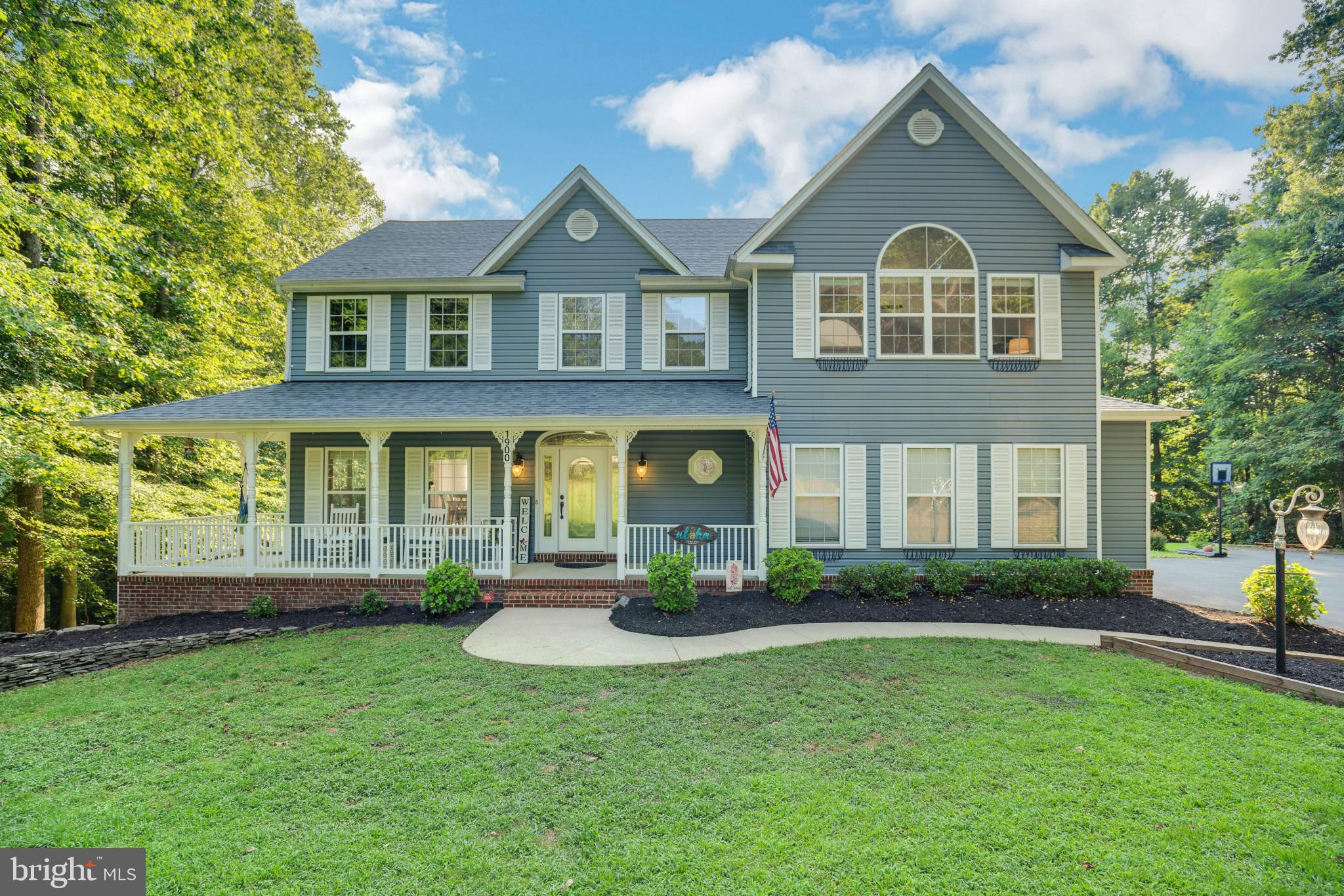 SPECTACULAR SUMMERTIME STUNNER IN HUNTINGTOWN, CALVERT COUNTY MD!  This home is an entertainer's dre