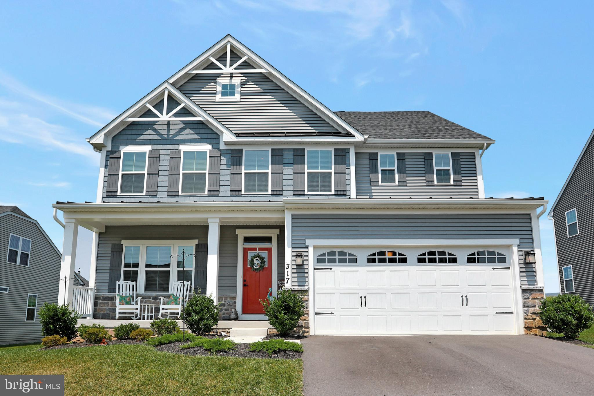 Situated in a great neighborhood, this stunning home offering loads of upgrades including the Crafts