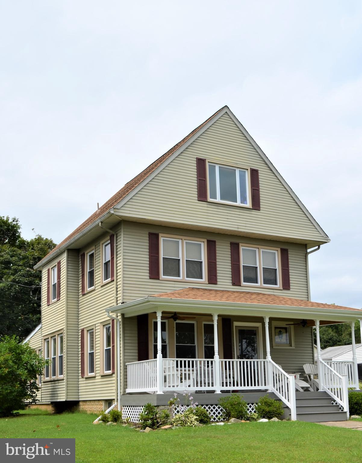 Charm and Character fill this early 1900's era home in the ever so desired Town of South Chesapeake
