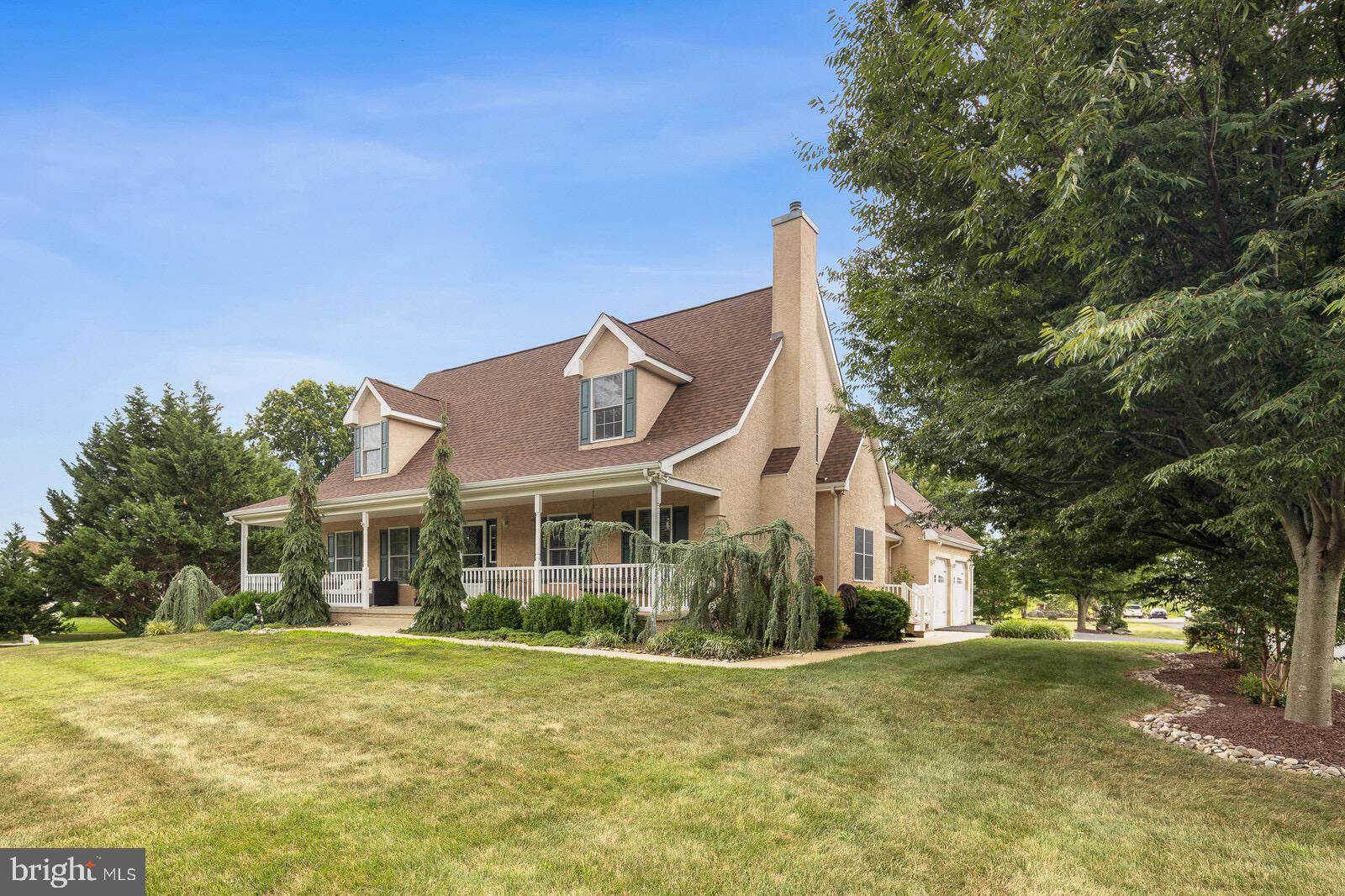 Breathtaking 5 BR, 4.1 BA home situated on 3 acres in the App School District.   Many features inclu