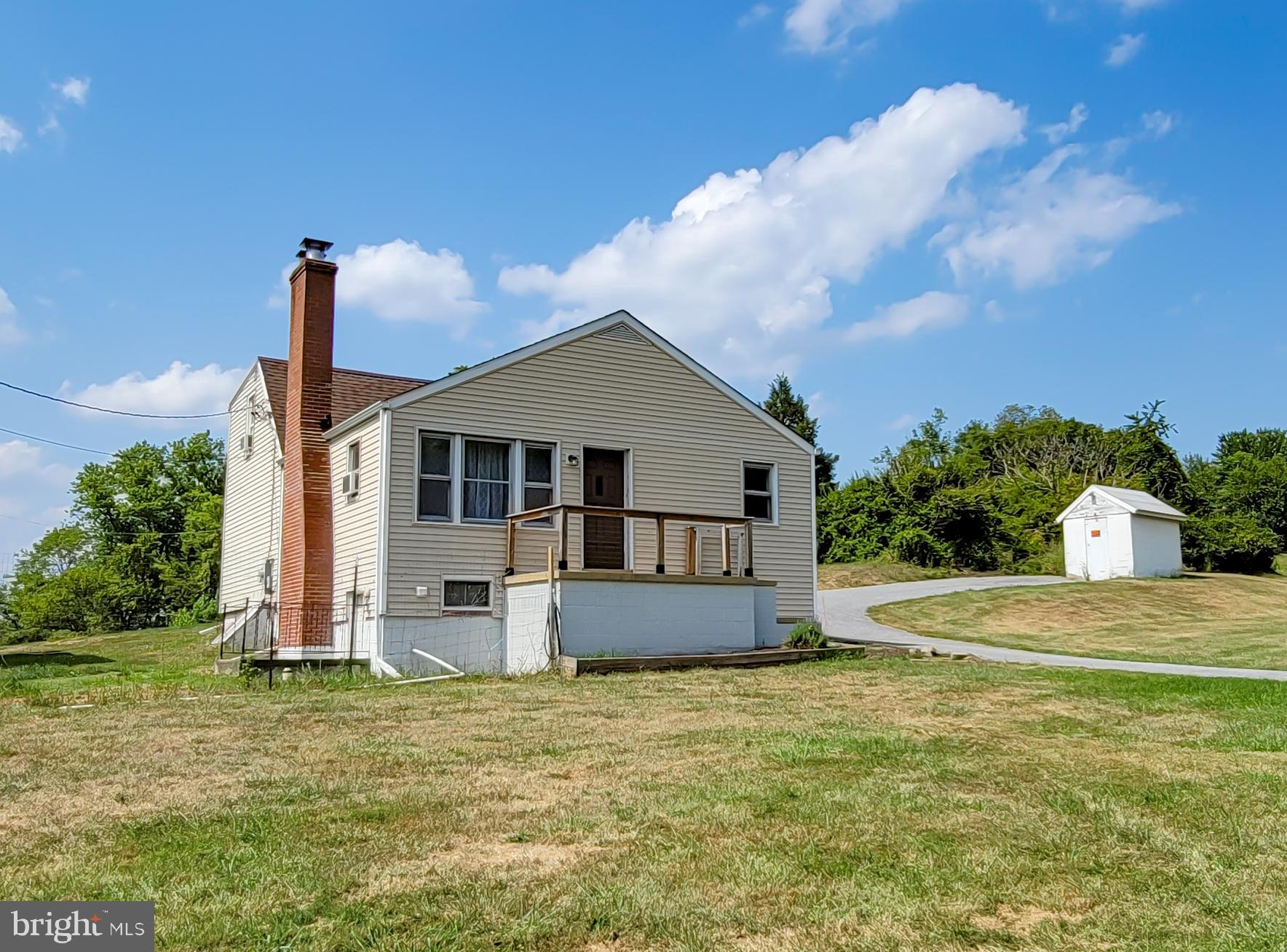 Back on the market! Unique opportunity to own lovely farmette acreage in Frederick County -- almost