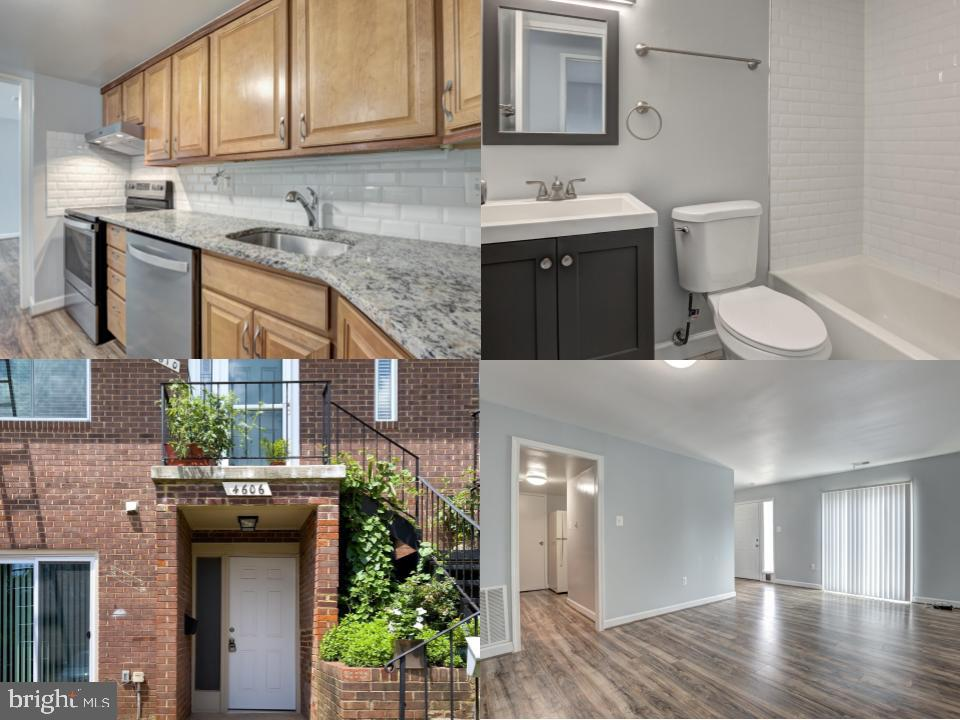 Updated one bedroom condo located in Annandale. Spacious living room dining room combination with an