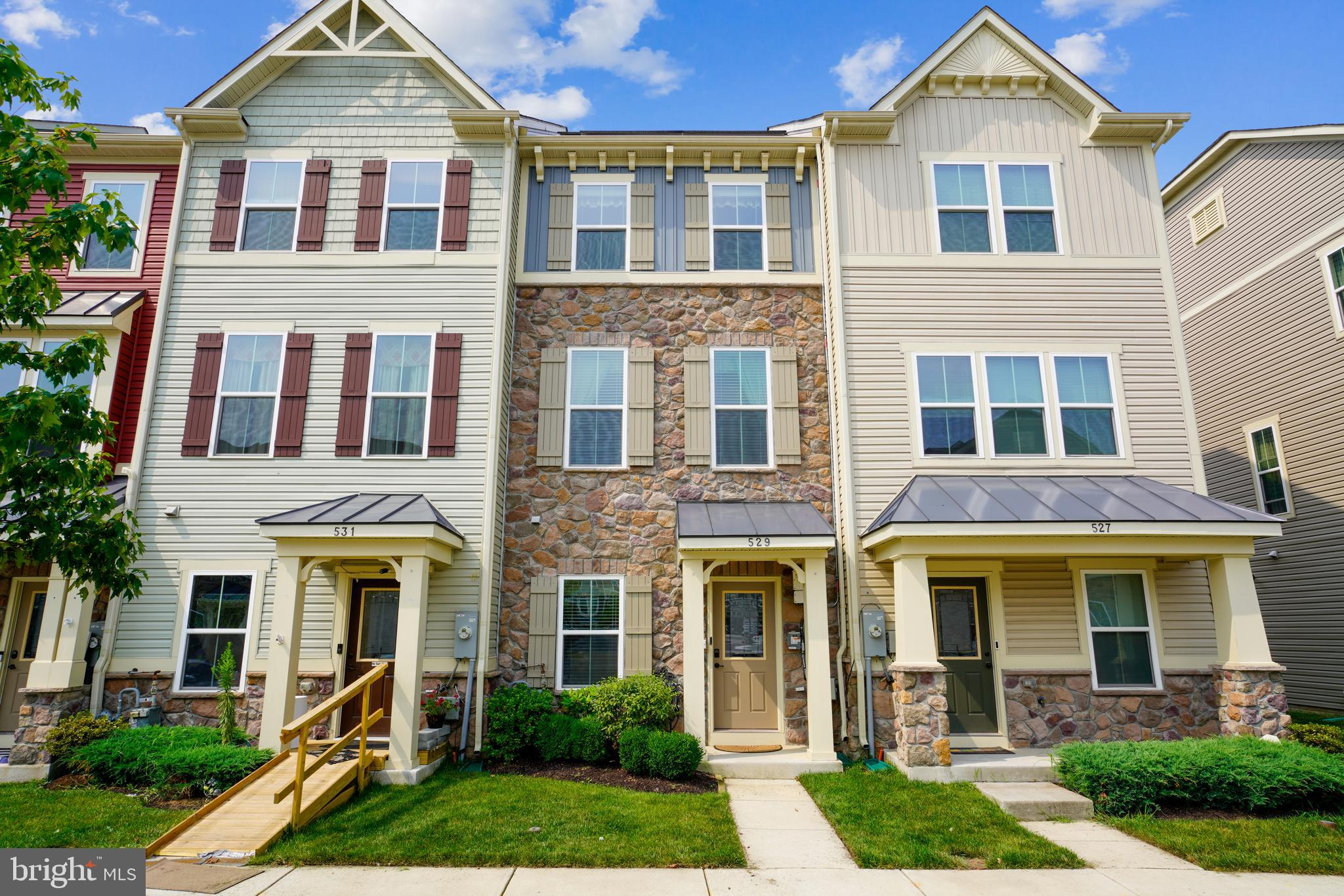 Creekside Village is one of the most sought-after luxury townhome communities in Anne Arundel County
