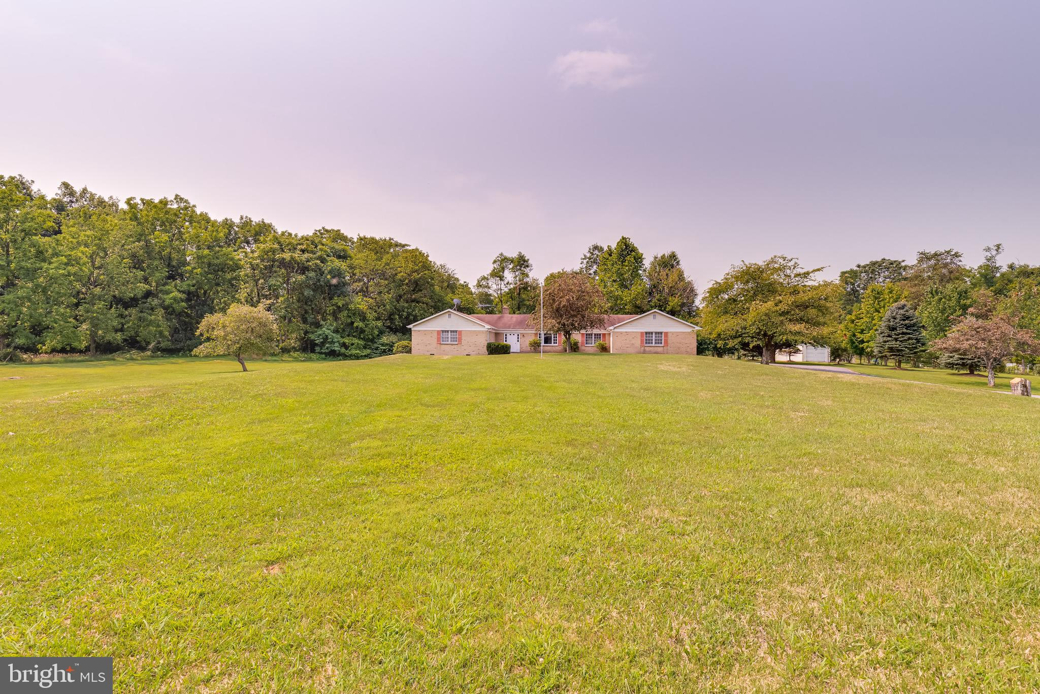 Private Community Potomac River Access With This Large All Brick 4 Bedroom 2 1/2 Bath Rancher On 2.8
