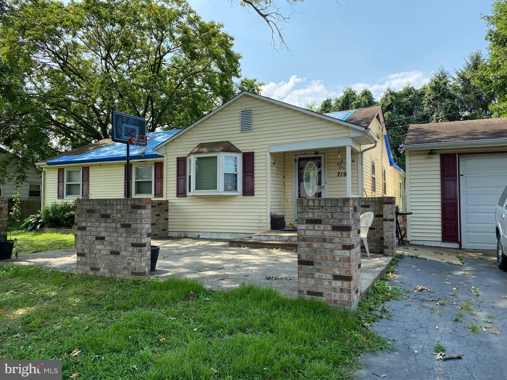 """This is a short sale in need of major renovations due to issues with the roof. Property being sold """""""