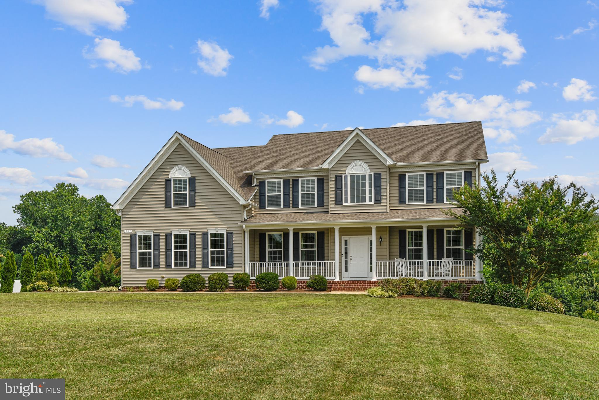 This home is in excellent condition and shows like a model home.  The two-story foyer with all the d