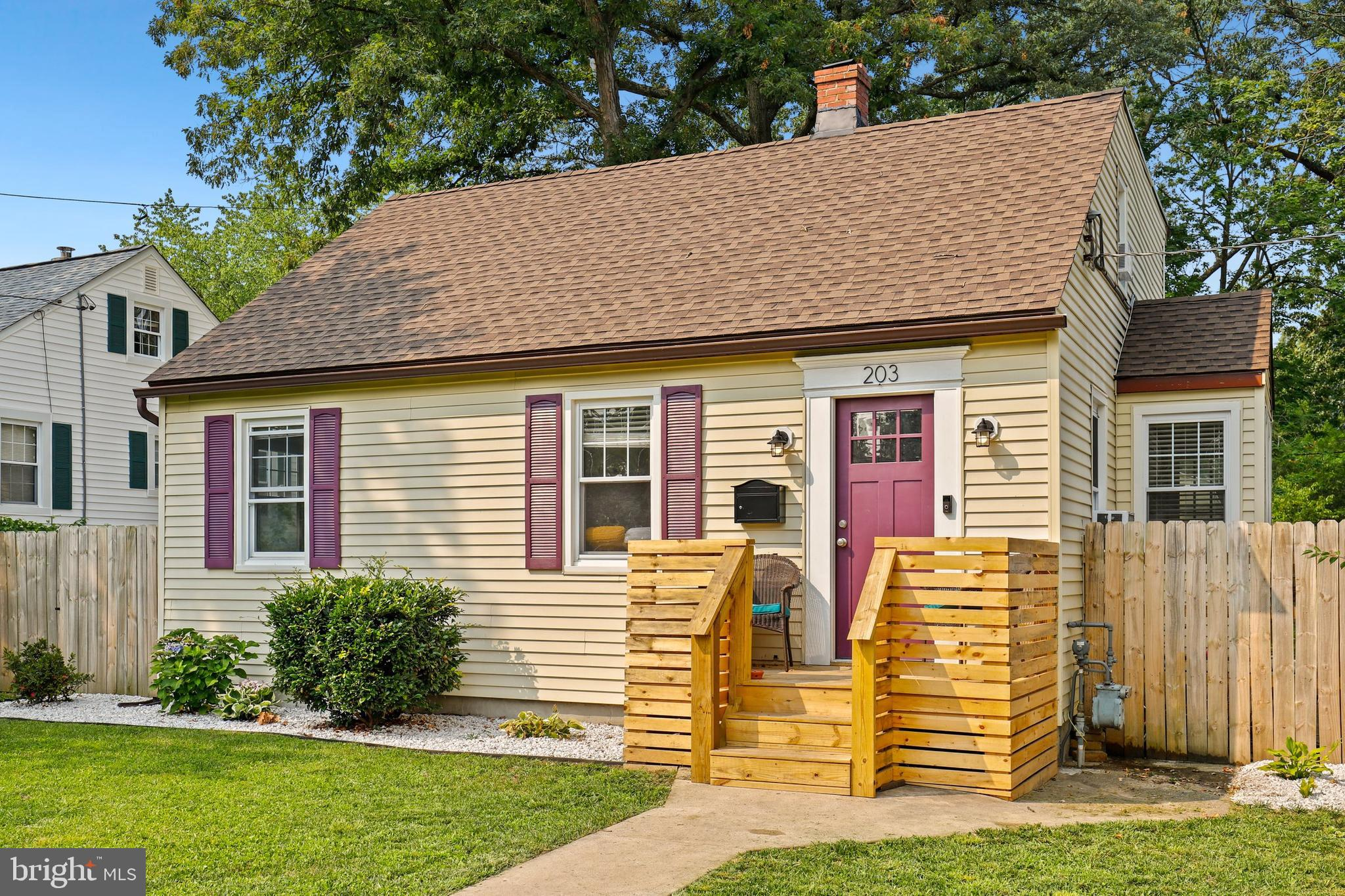 Fresh & updated expanded Cape Cod featuring 4 bedrooms (with a possible 5th) featuring a wonderful,