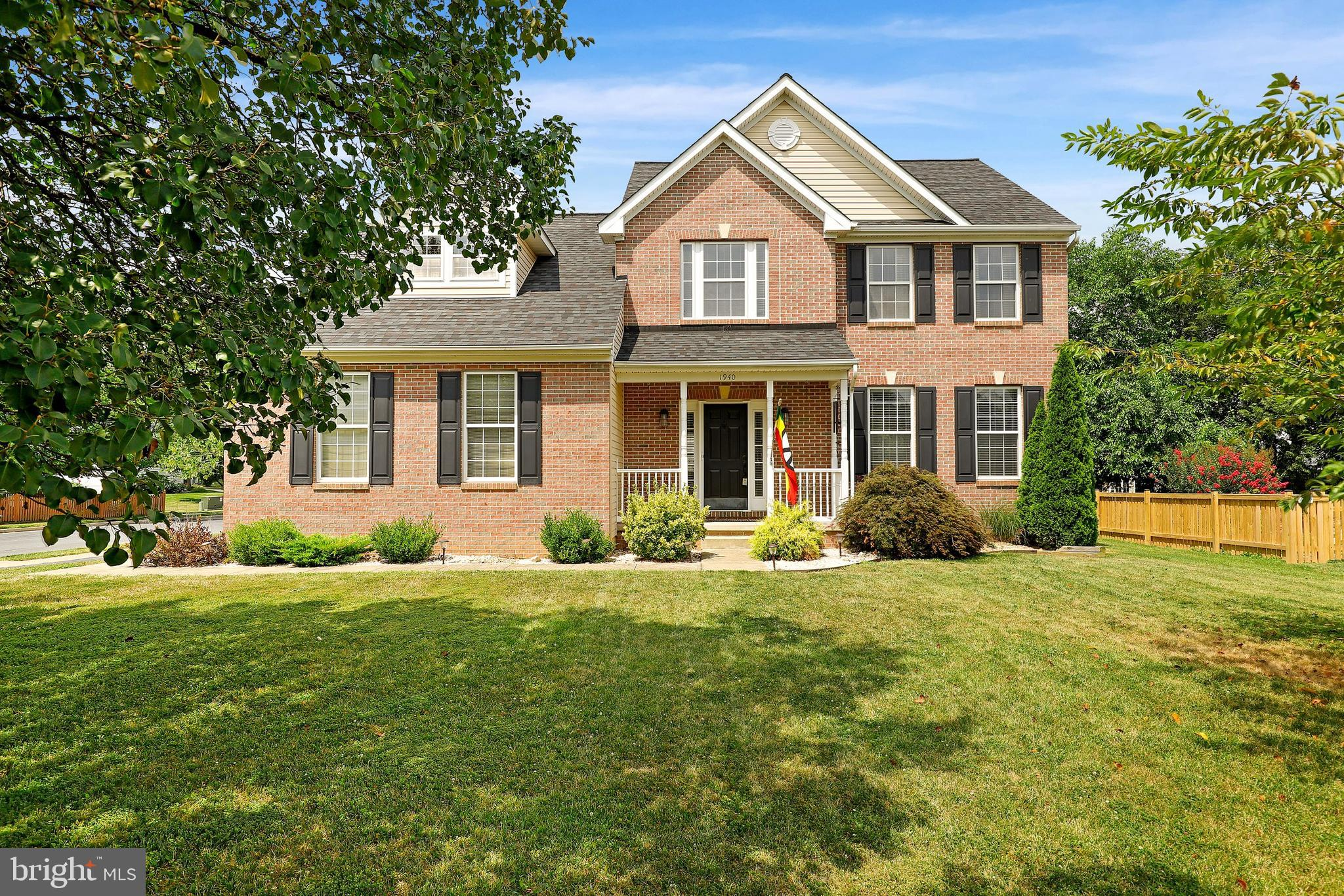 Beautiful home in North Crossing has four bedrooms, 3.5 baths and many updates. Enter to find newer