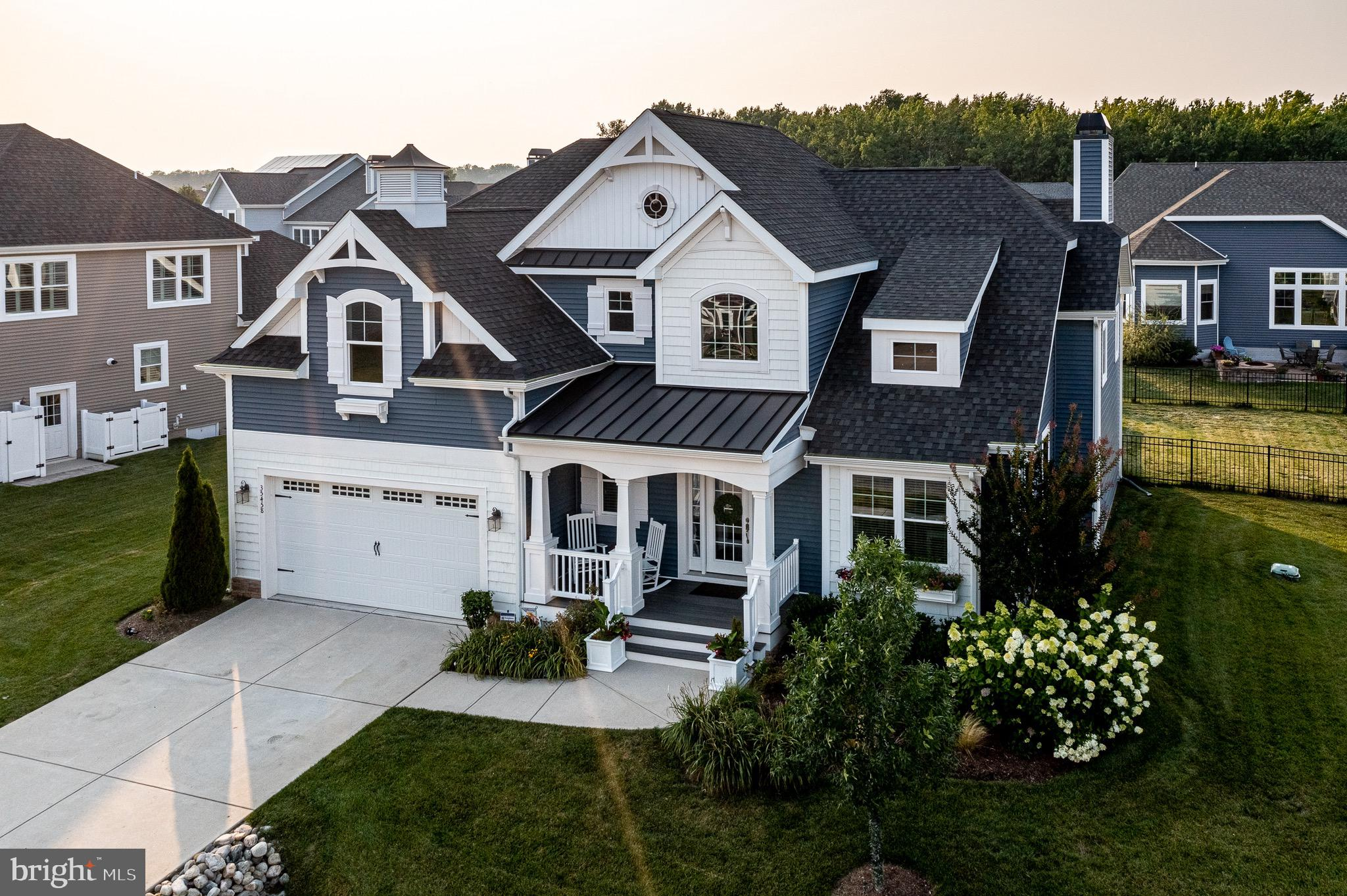 Amenity rich, gated community, Sawgrass at White Oak Creek is a coveted address in Rehoboth Beach.