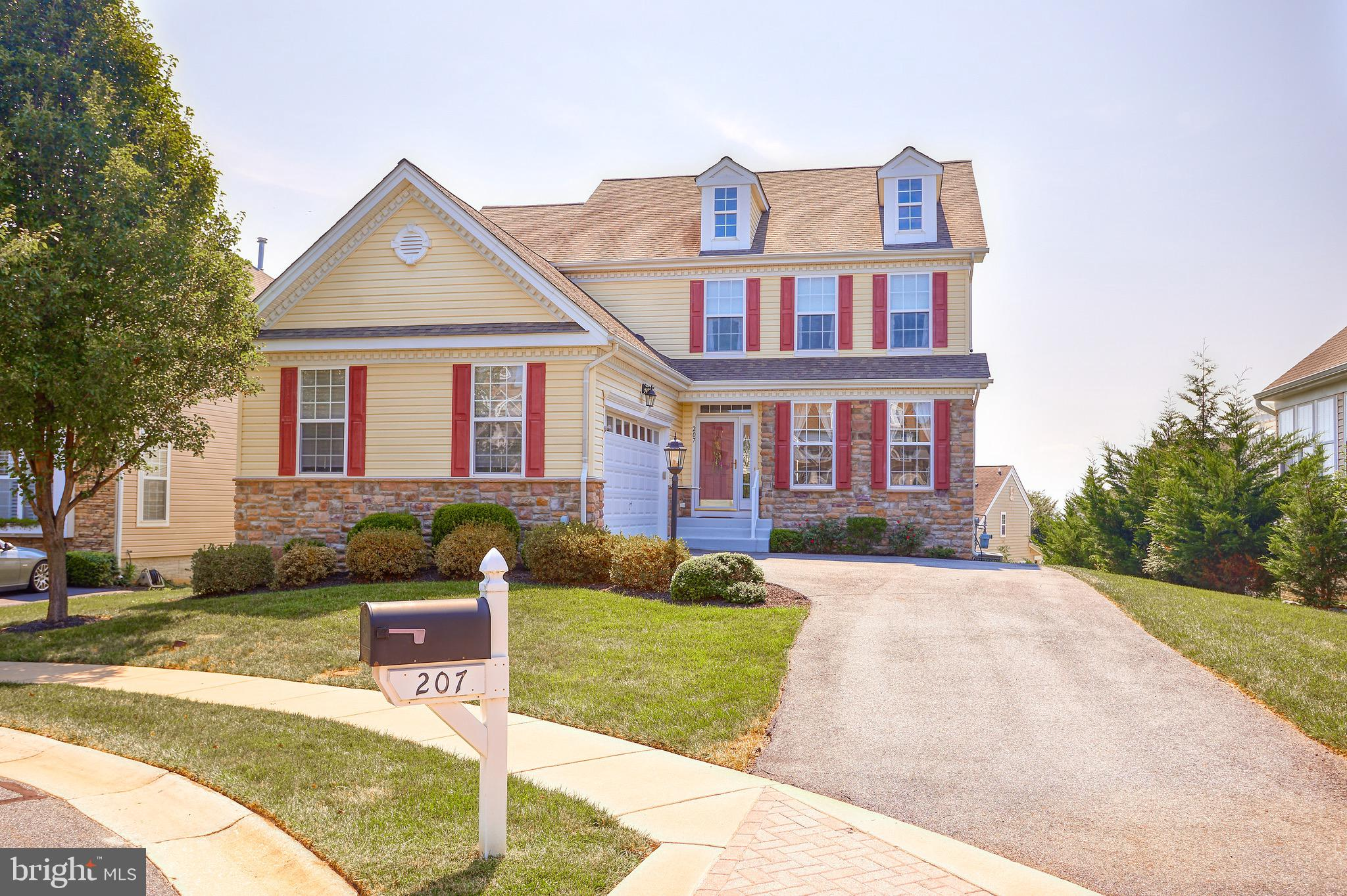 Wonderful detached colonial on a cul-de-sac in Bulle Rock! Main floor primary bedroom suite with lau