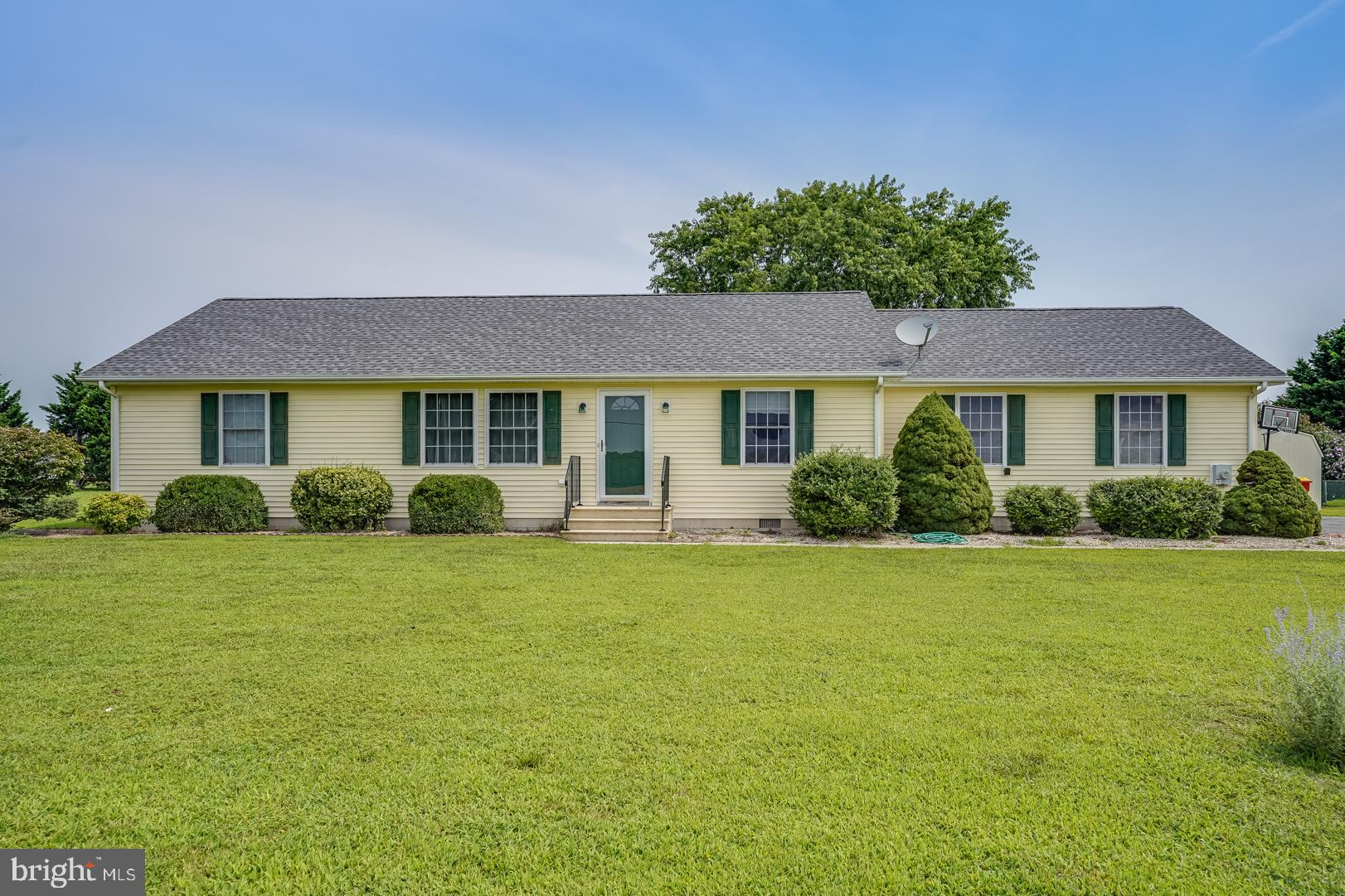 Situated between the Sussex  quadrants of Rt 1 and Rt 113, sits this well-maintained ranch home on 3
