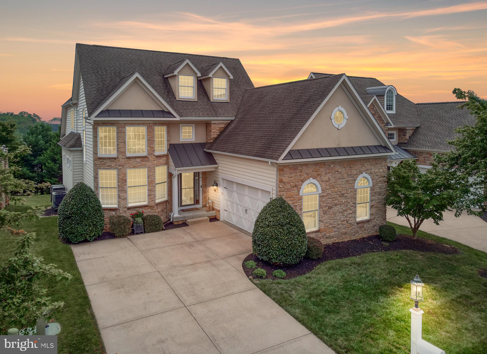 A truly unique home that must be seen in Bulle Rock. Located directly across from the 37,000 sq ft R