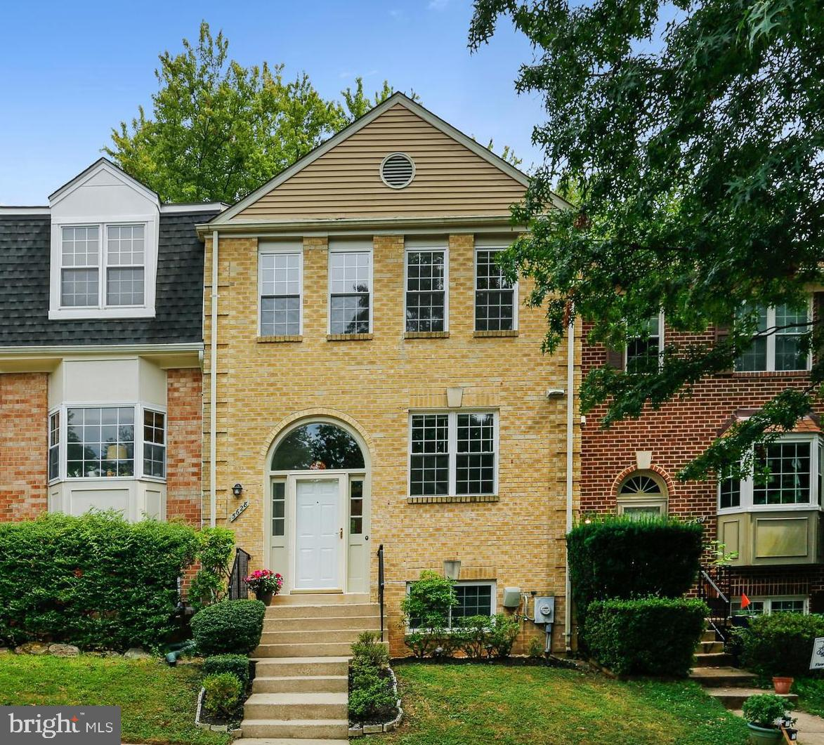 Welcome to this rarely available brick-front townhome located at the edge of Rock Creek Park!  Embod