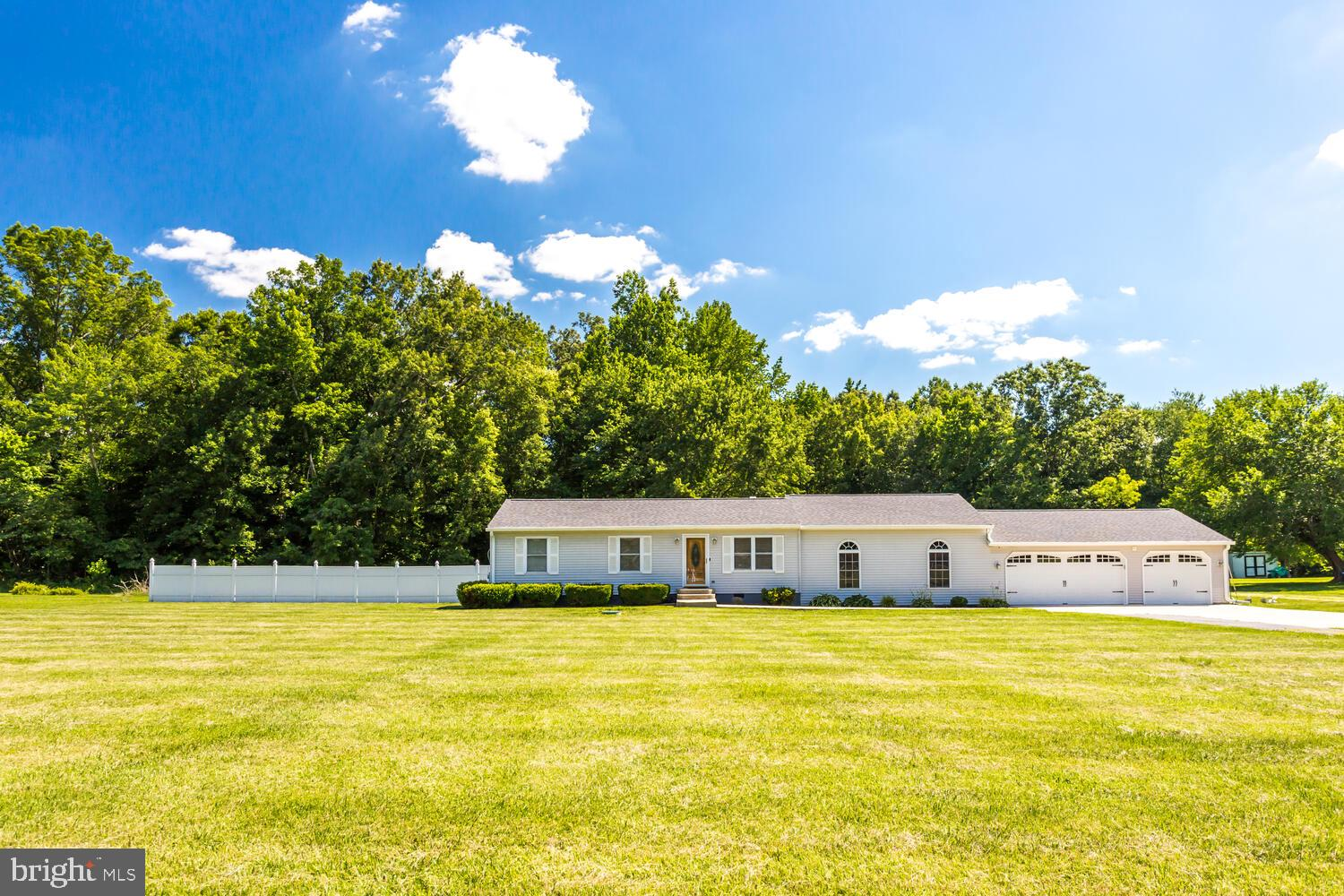 This well maintained rambler is nearly 1700 sqft on 2 nice level acres!!  This home features 3 bedro
