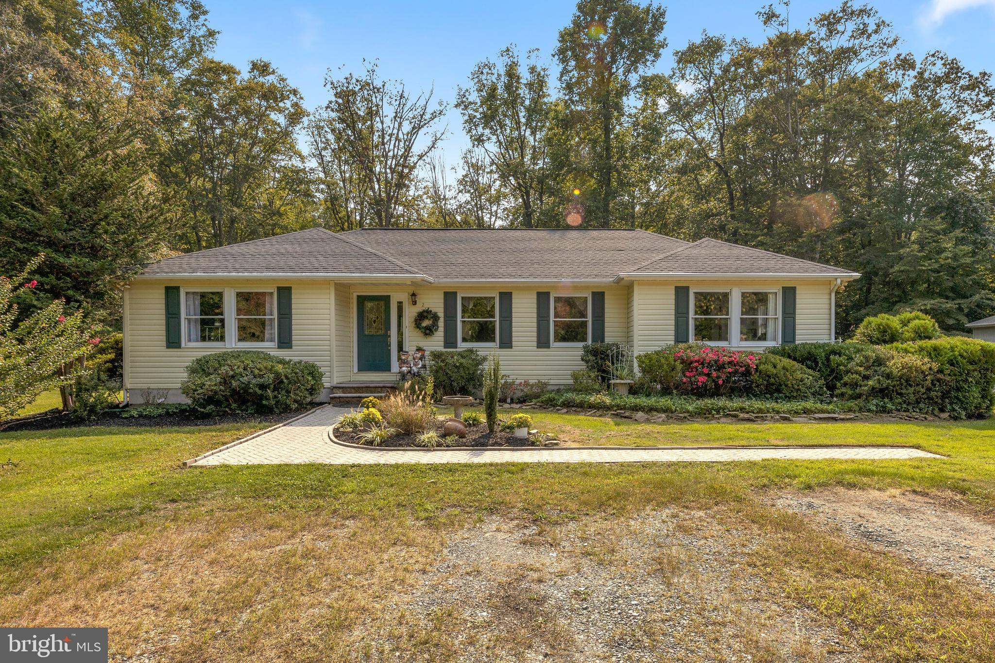 Situated on a private 5.15 acre wooded homesite in Odenton is this well-maintained rancher with an u