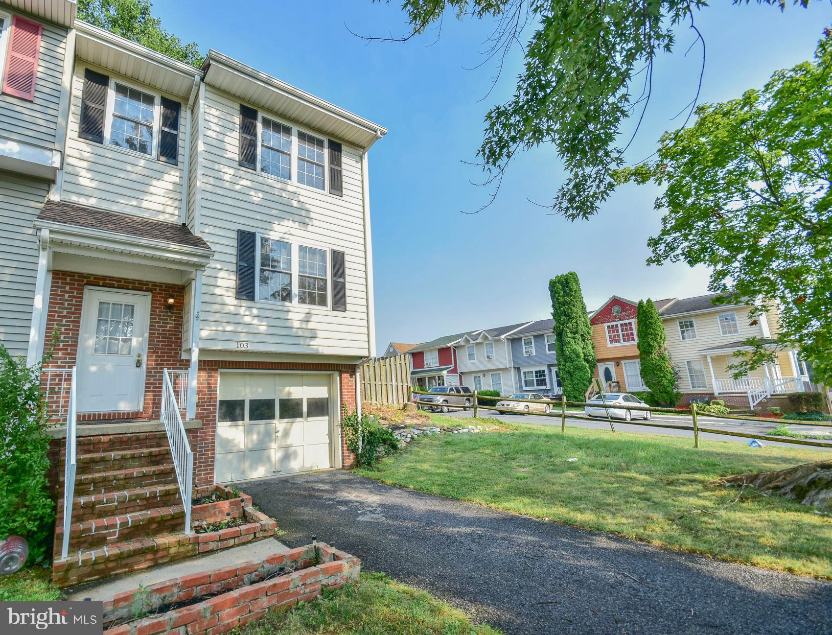 Affordable home in Charles Town!  This adorable end unit townhouse is conveniently located and well