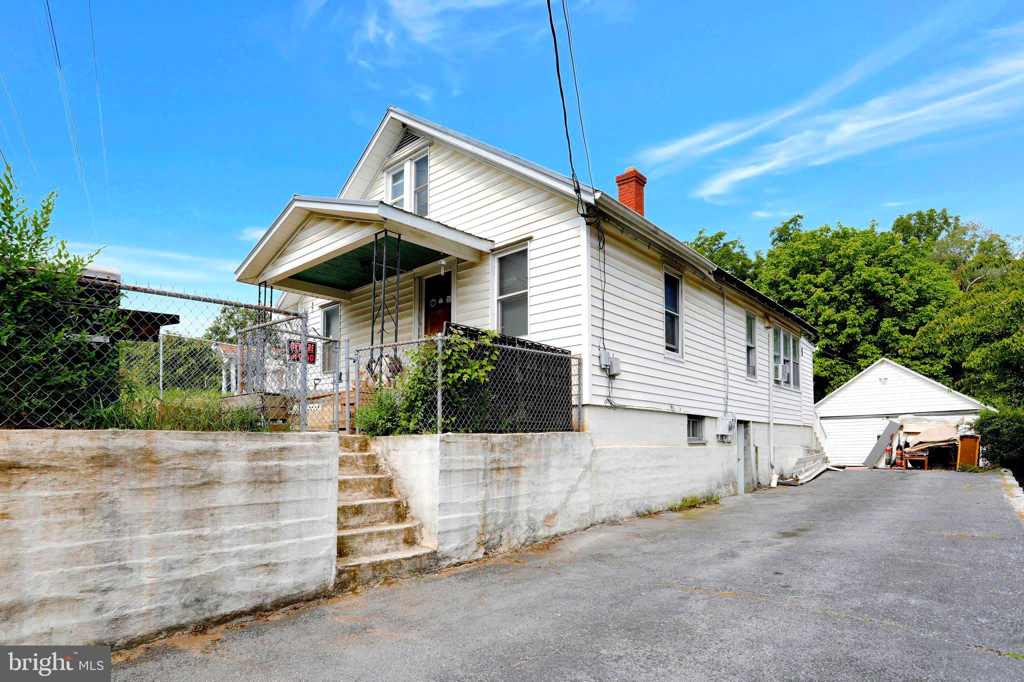3 bed 1 bath bungalow! Home offers hardwood floors, finished attic, and recent updates made througho