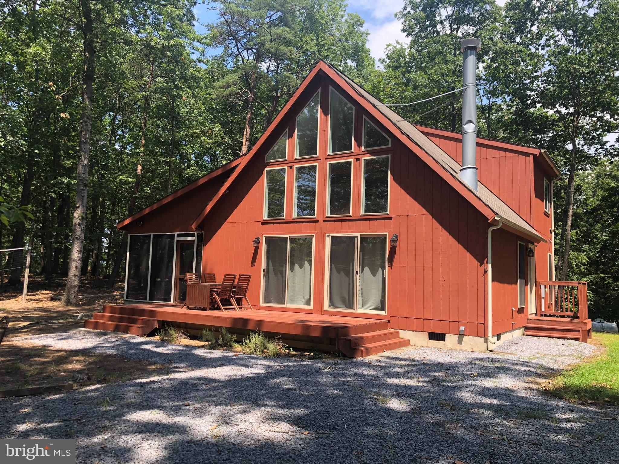 What a great home for those who love the outdoors. This home sits on 13.12 AC Unrestricted and can b
