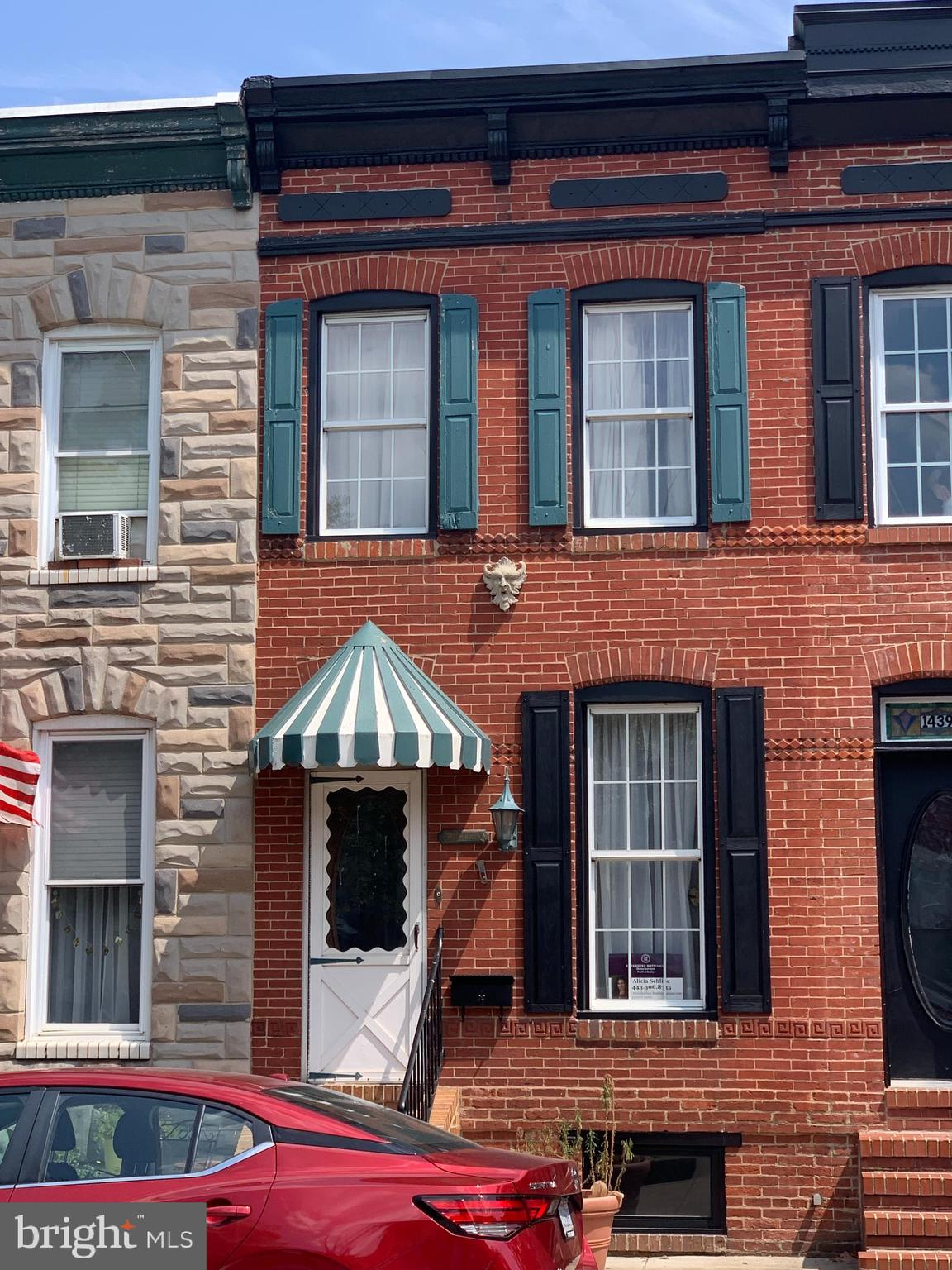 INVESTOR ALERT! Location, Location, Location!!! Locust Point townhome ready for your improvements. Walking distance to Latrobe Park recreation area with baseball & soccer fields, tennis & basketball courts, plus a dog run. Convenient to major routes and public transportation. As-Is.   Imagine this lovely brick townhome finished just the way you want and cute as a button! Spacious kitchen and bedrooms. Have coffee while sitting on the patio or take advantage of the  to all that Baltimore has to offer!