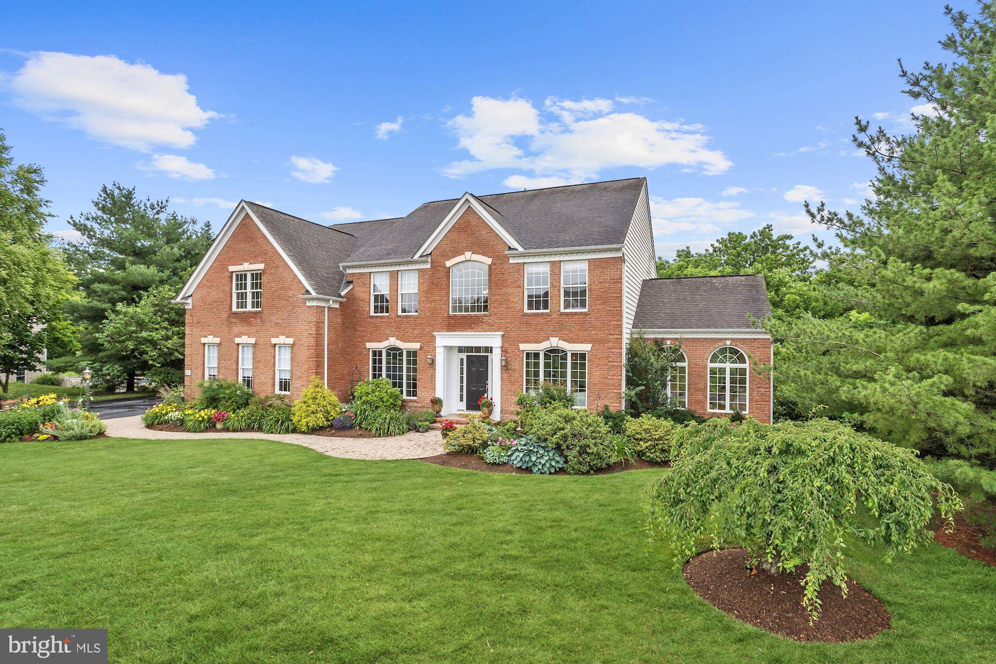 Welcome to the remarkable and prestigious Cone Branch Estates in Middletown! Beautiful custom-built