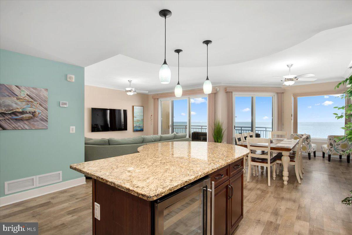 Direct Oceanfront one of a kind 3 Bedroom 3 Bathroom residence offered fully furnished with all of t