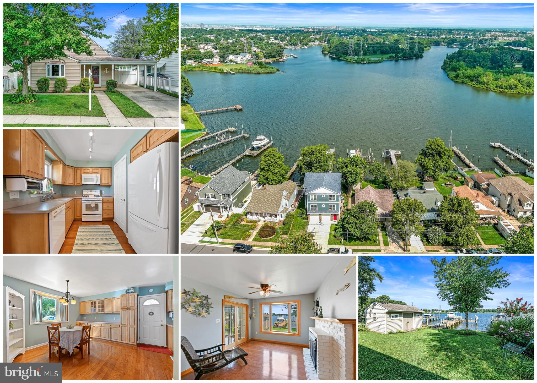 This waterfront property is ready for you to move in and enjoy!  Lovingly cared for and updated, thi