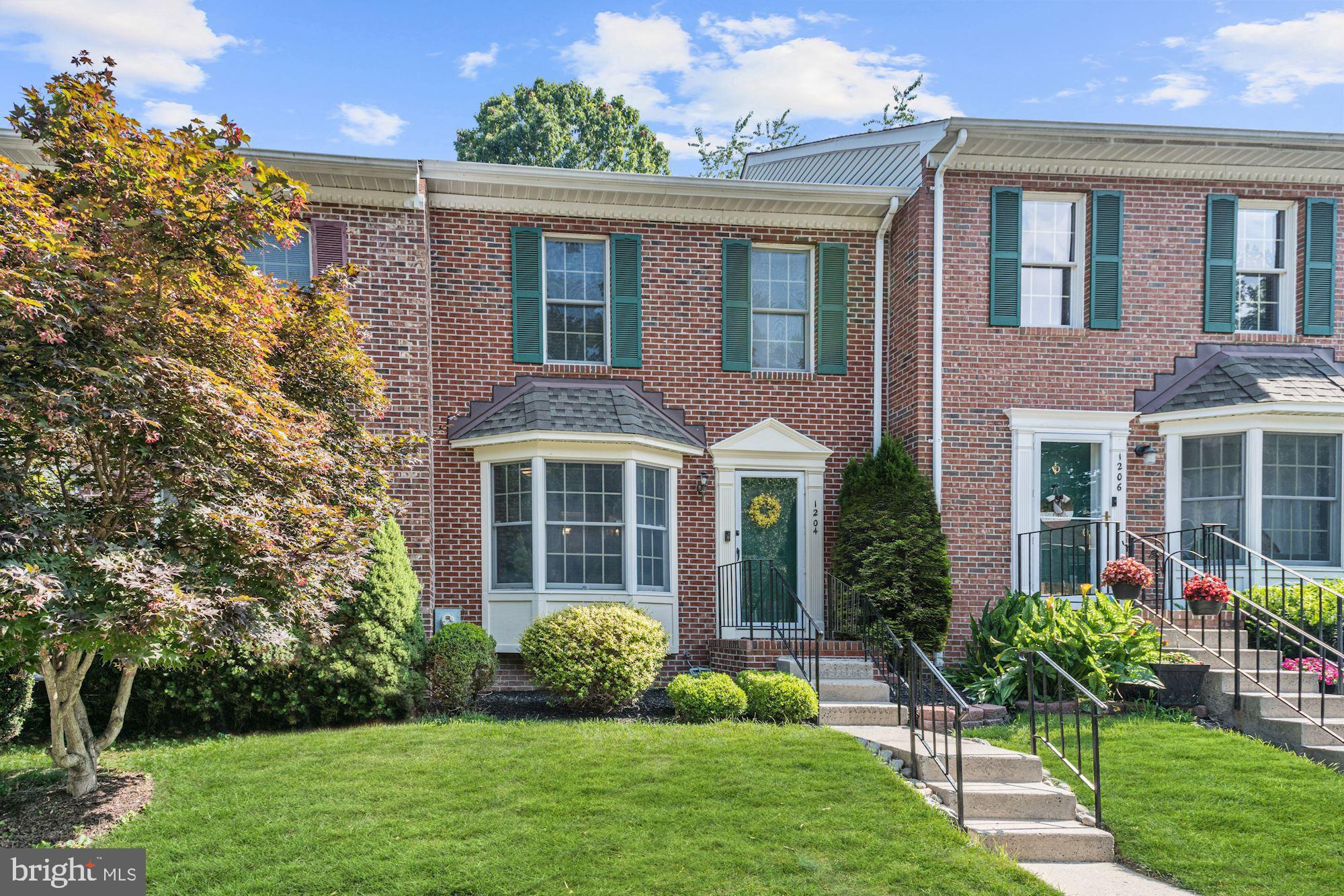 This winning brick front colonial falls right in line with the stylish and relaxing lifestyle that y