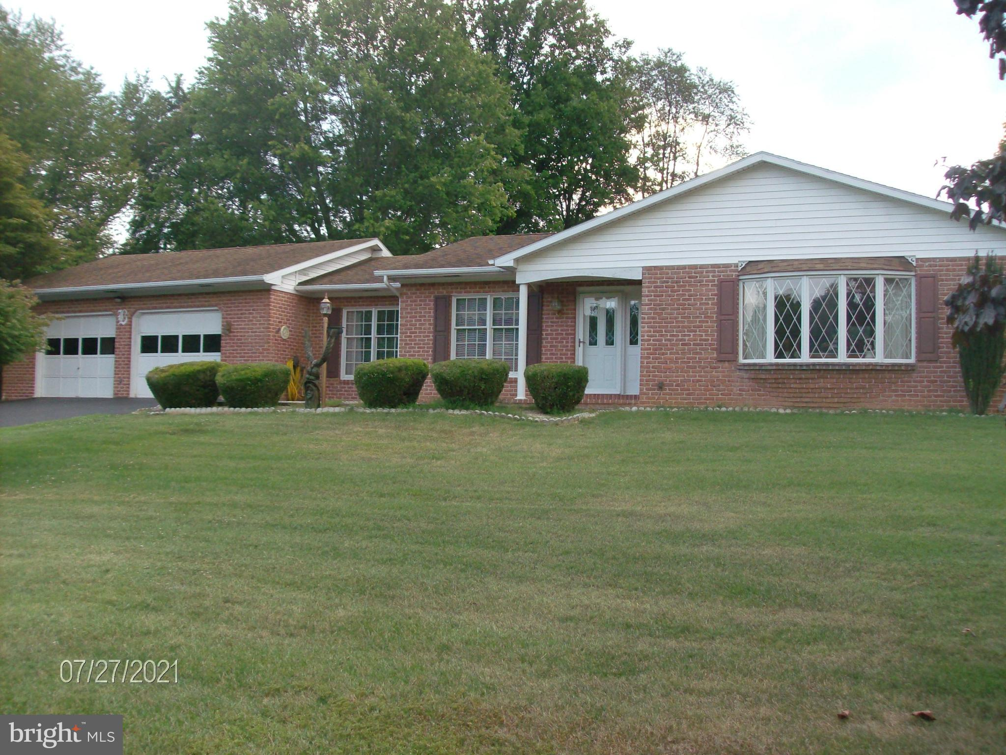 Excellent condition.   Owner had house built .  Easy access to hospital, shopping, and I81.  School