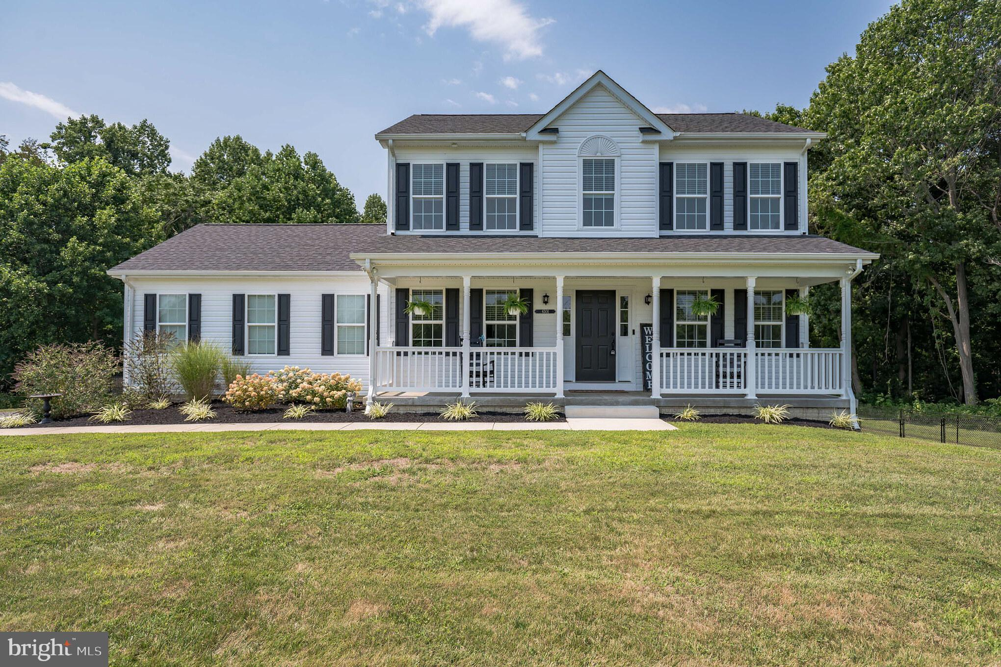 Looking  to build the home of your dreams? Why wait? This home was built in 2019 and is in immaculat