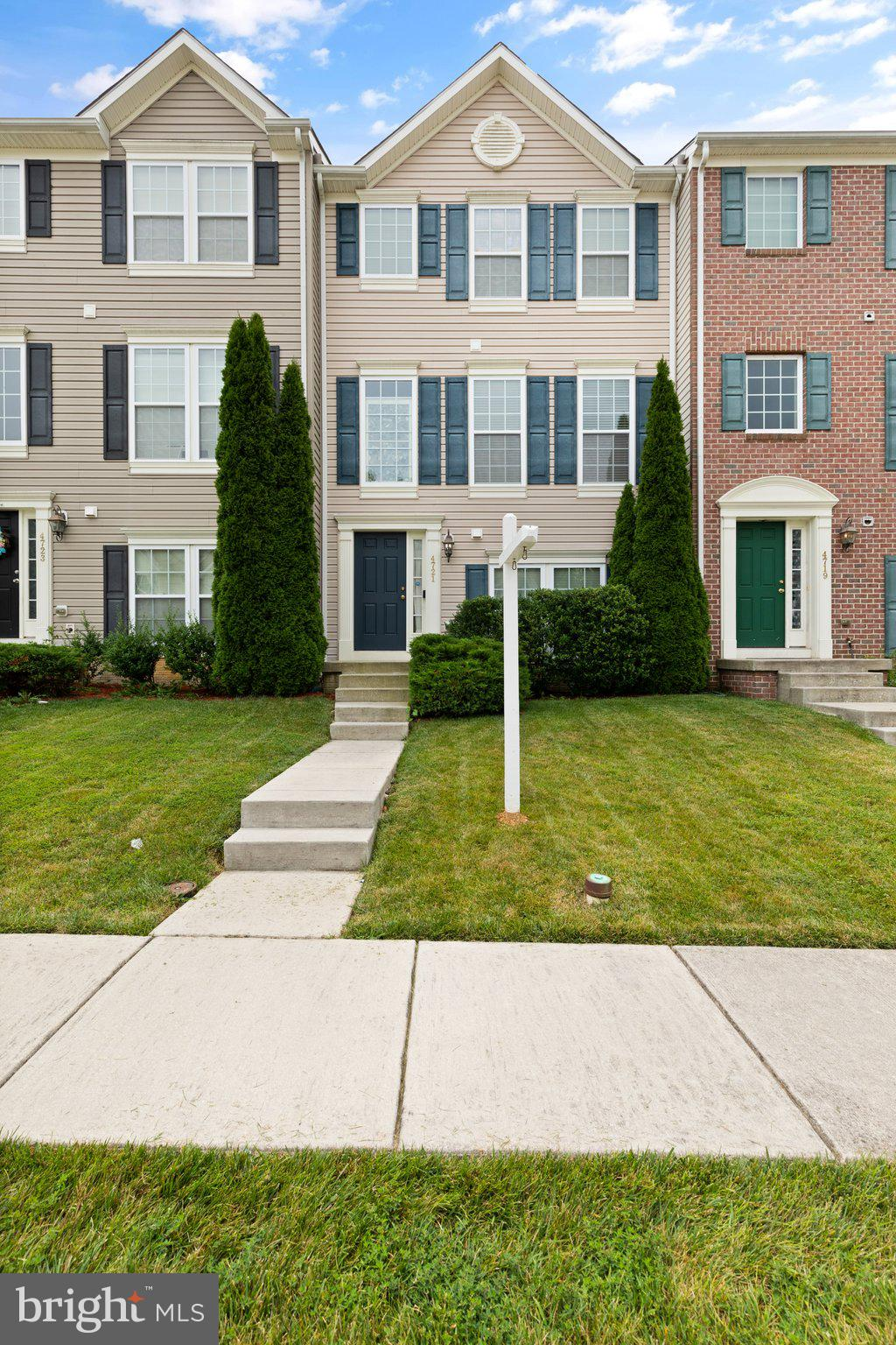 Buyer unable to preform and settle.    Ready to move in 3 bedroom 2 1/2 bath townhome with a 2 car g